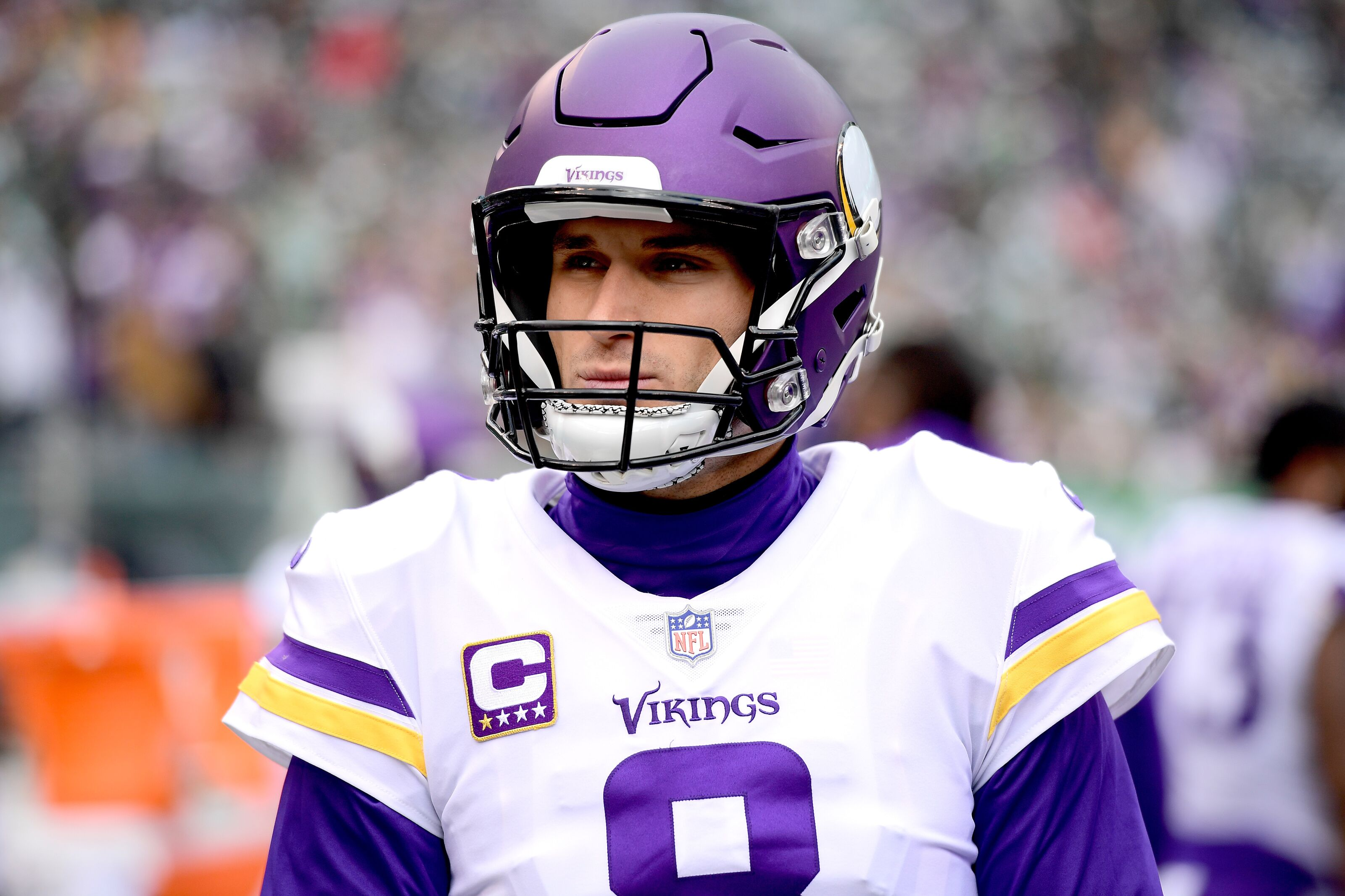 Kirk Cousins grills up rewards for the Minnesota Vikings offensive line