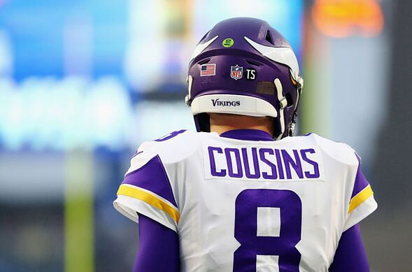 Image result for images of kirk cousins
