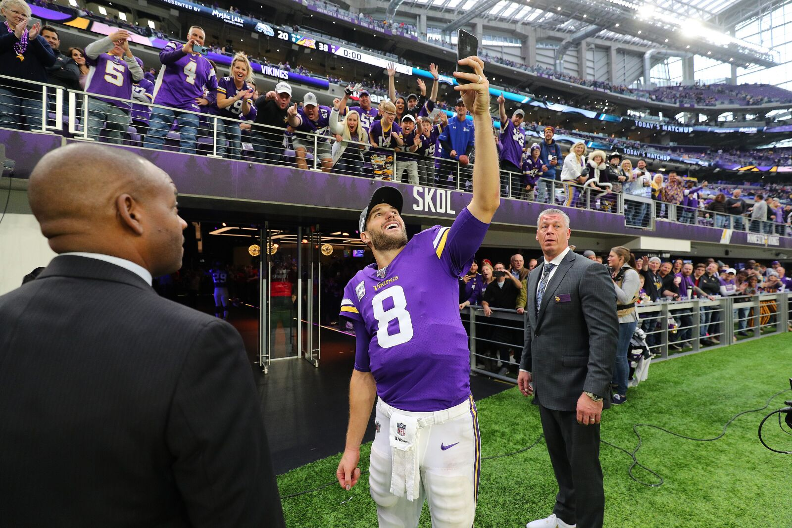 Vikings QB Kirk Cousins nominated for FedEx Air Player of the Week