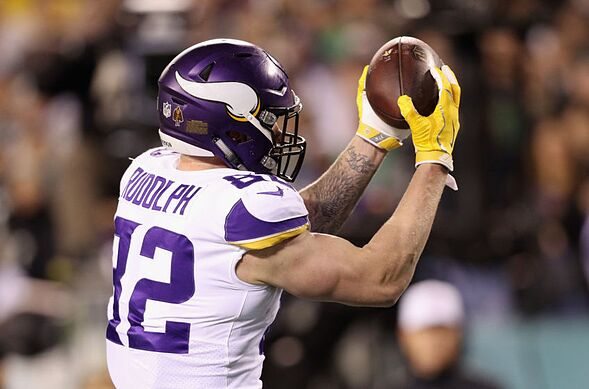 sale retailer 941fc 69fad 4 teams who could potentially trade for Kyle Rudolph in 2019