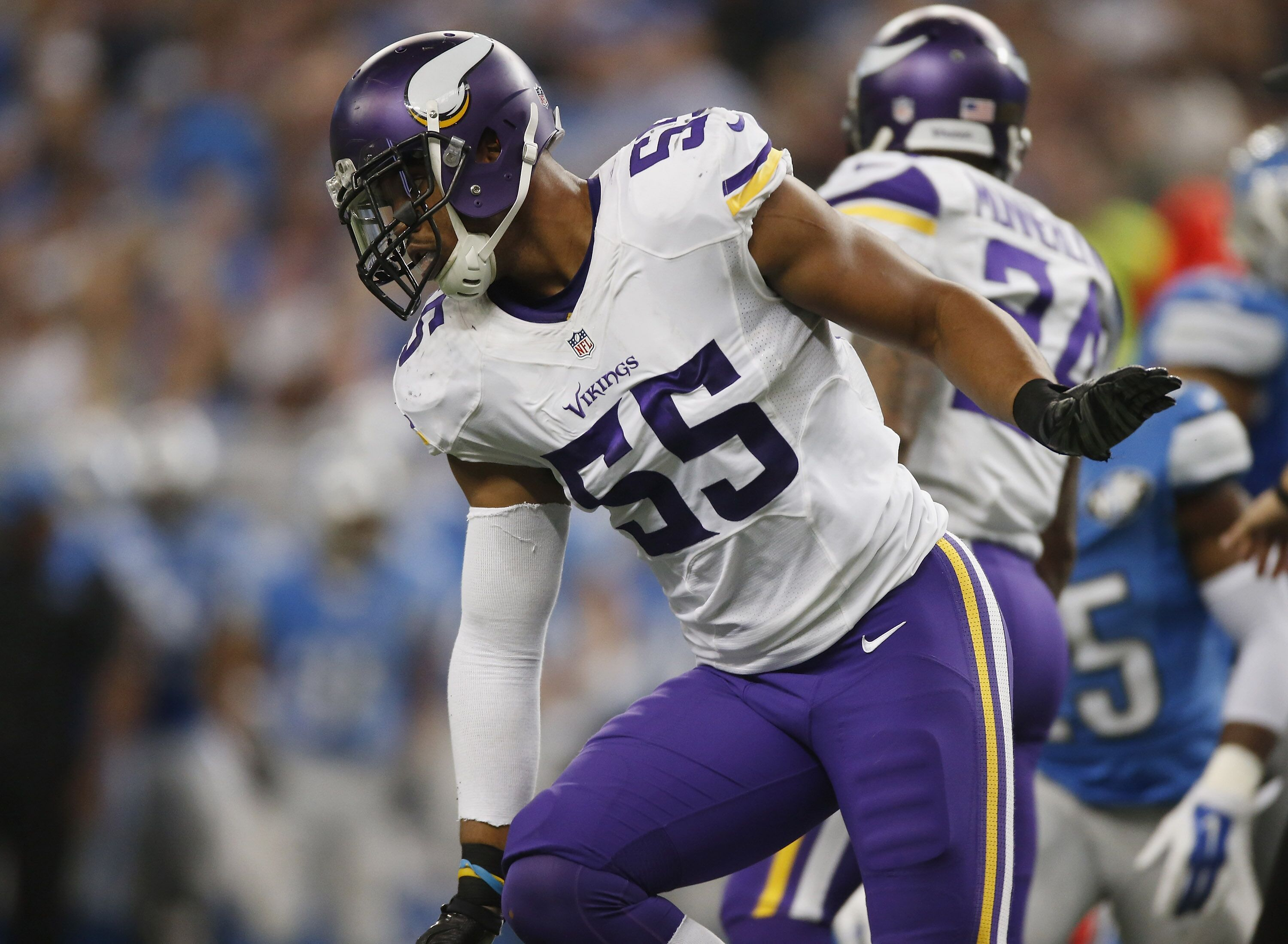 The game that ended Anthony Barr's career with the Vikings