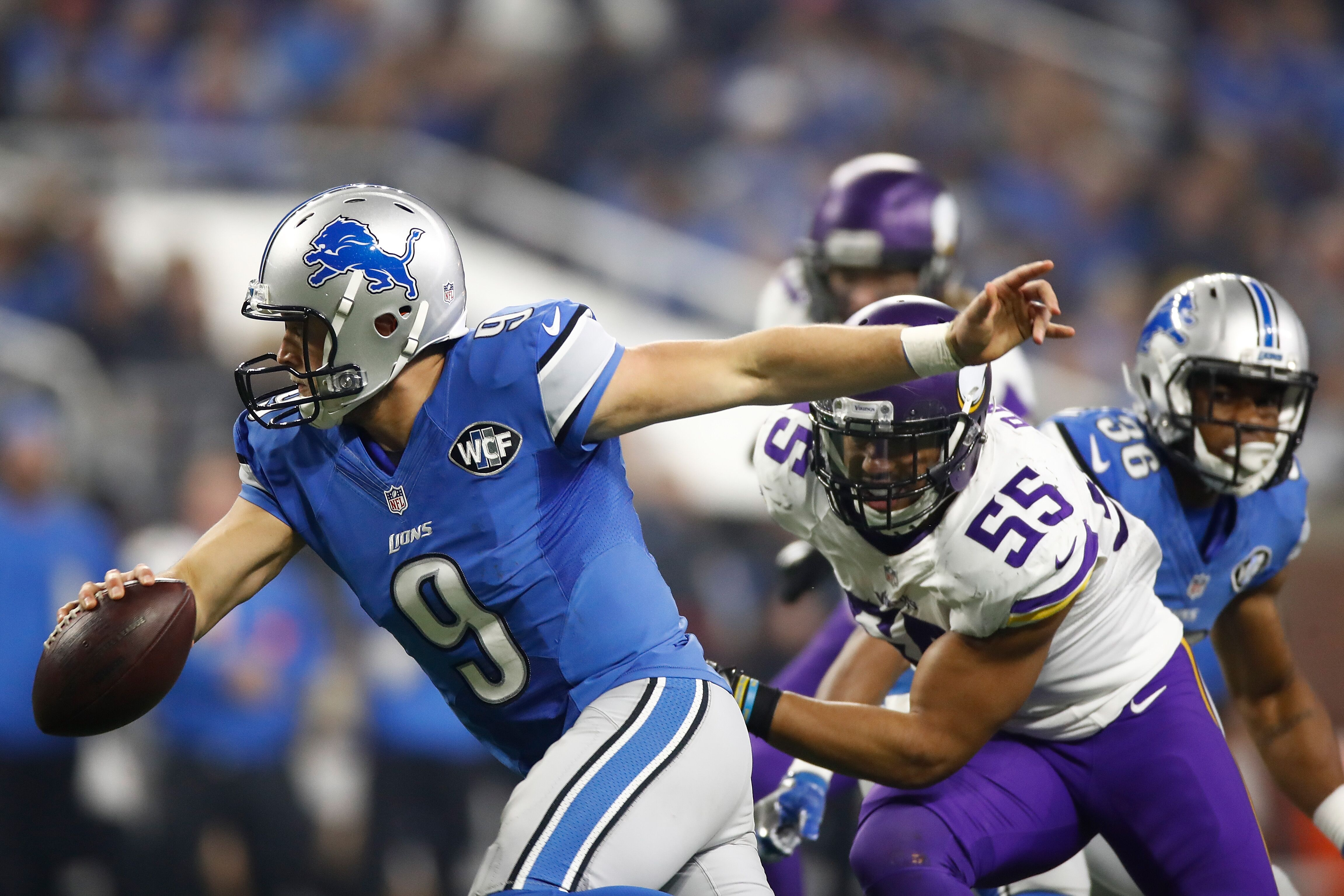 Image result for Vikings vs Lions Live pic logo