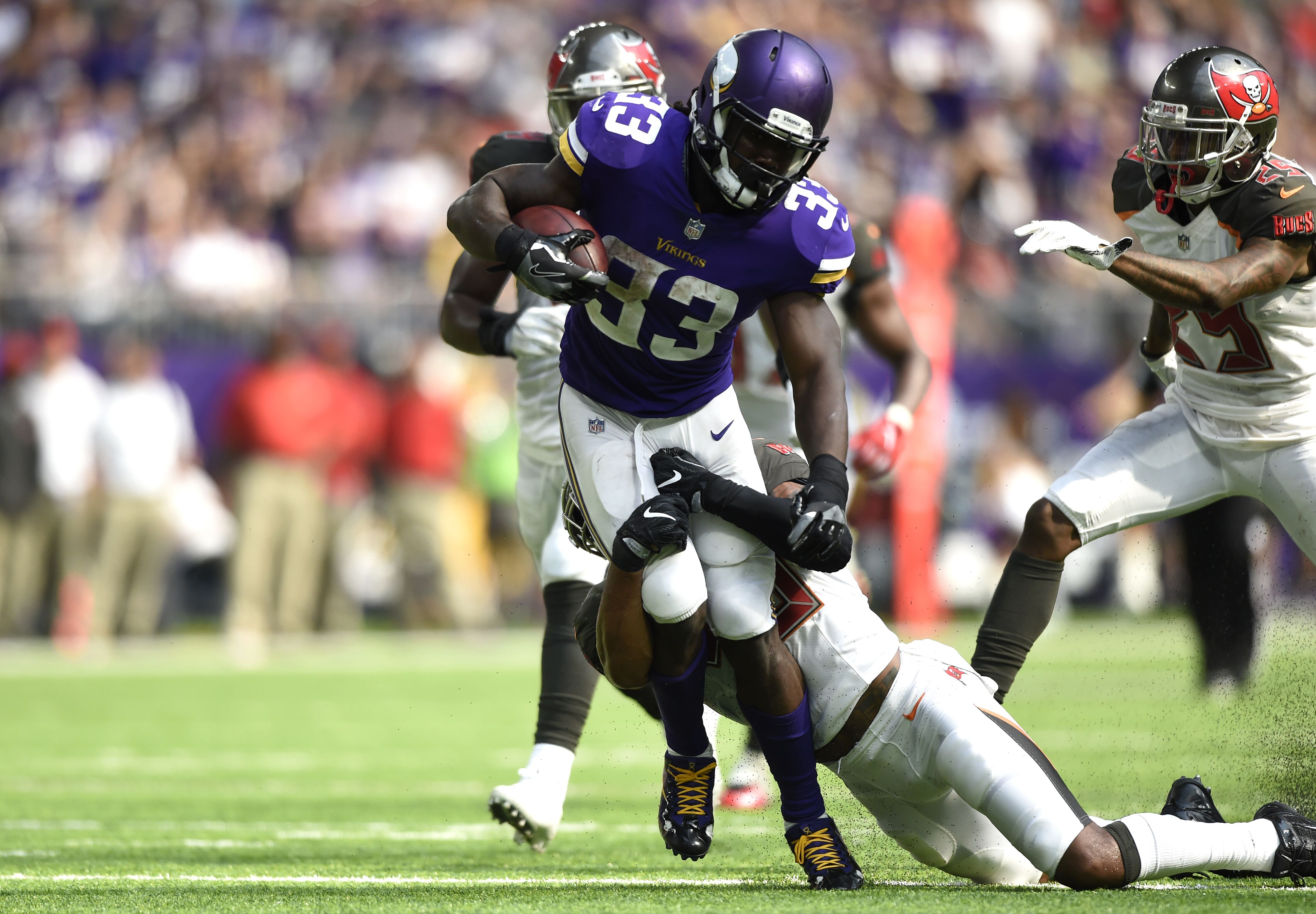 67d8c0dfc Dalvin Cook looks ready to go for the Vikings in 2018