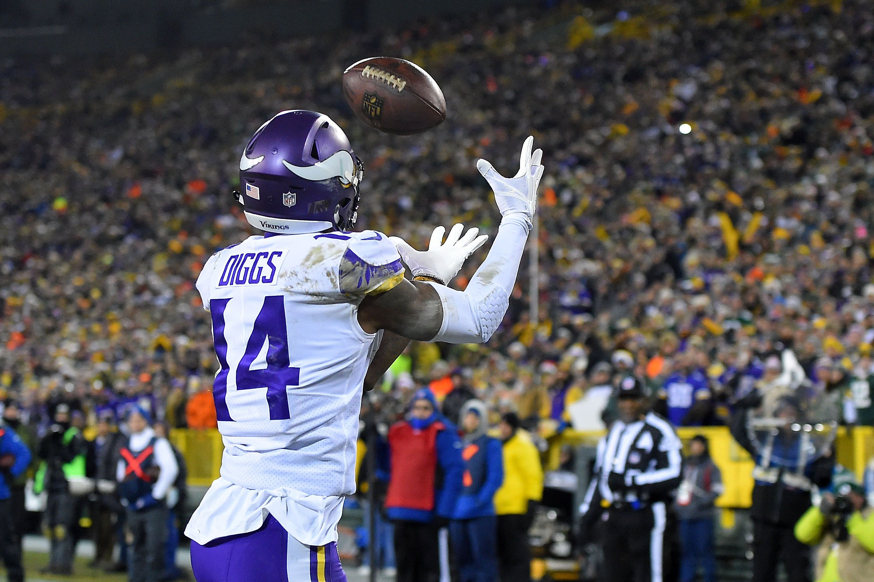 official photos b2e57 ad066 More or Less: 1,000 receiving yards for Stefon Diggs