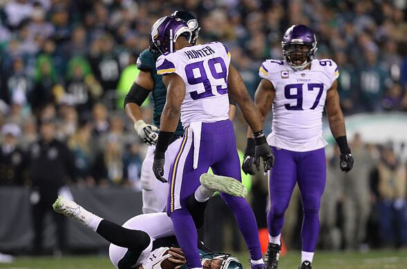Top plays and highlights  Minnesota Vikings vs Eagles NFC Title Game 5ae747e0c