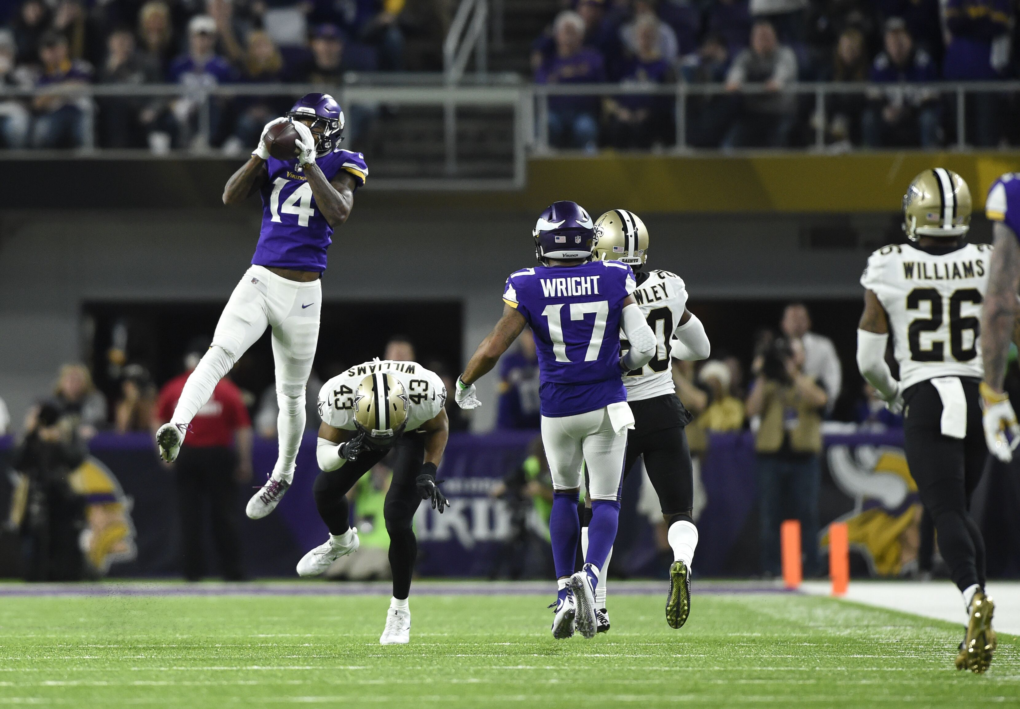 Minnesota Vikings land two ESPYs nominations for Minneapolis Miracle 2adb5d416a