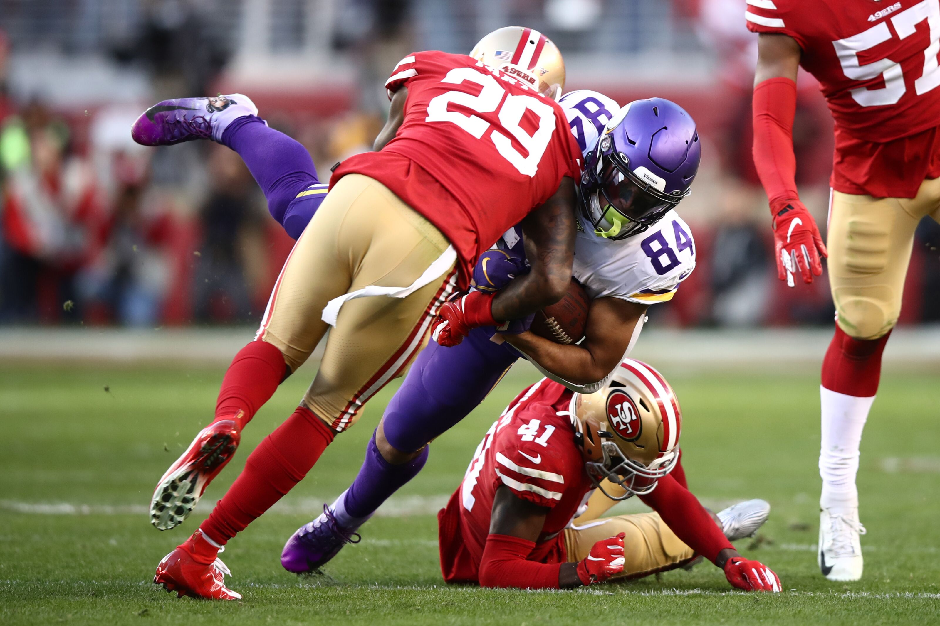 Top Vikings Rookies: Divisional round vs. the 49ers