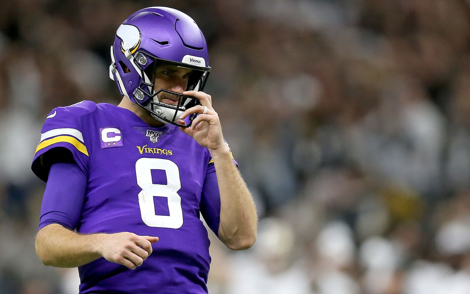 Gary Kubiak says Kirk Cousins is 'in the prime of his career'