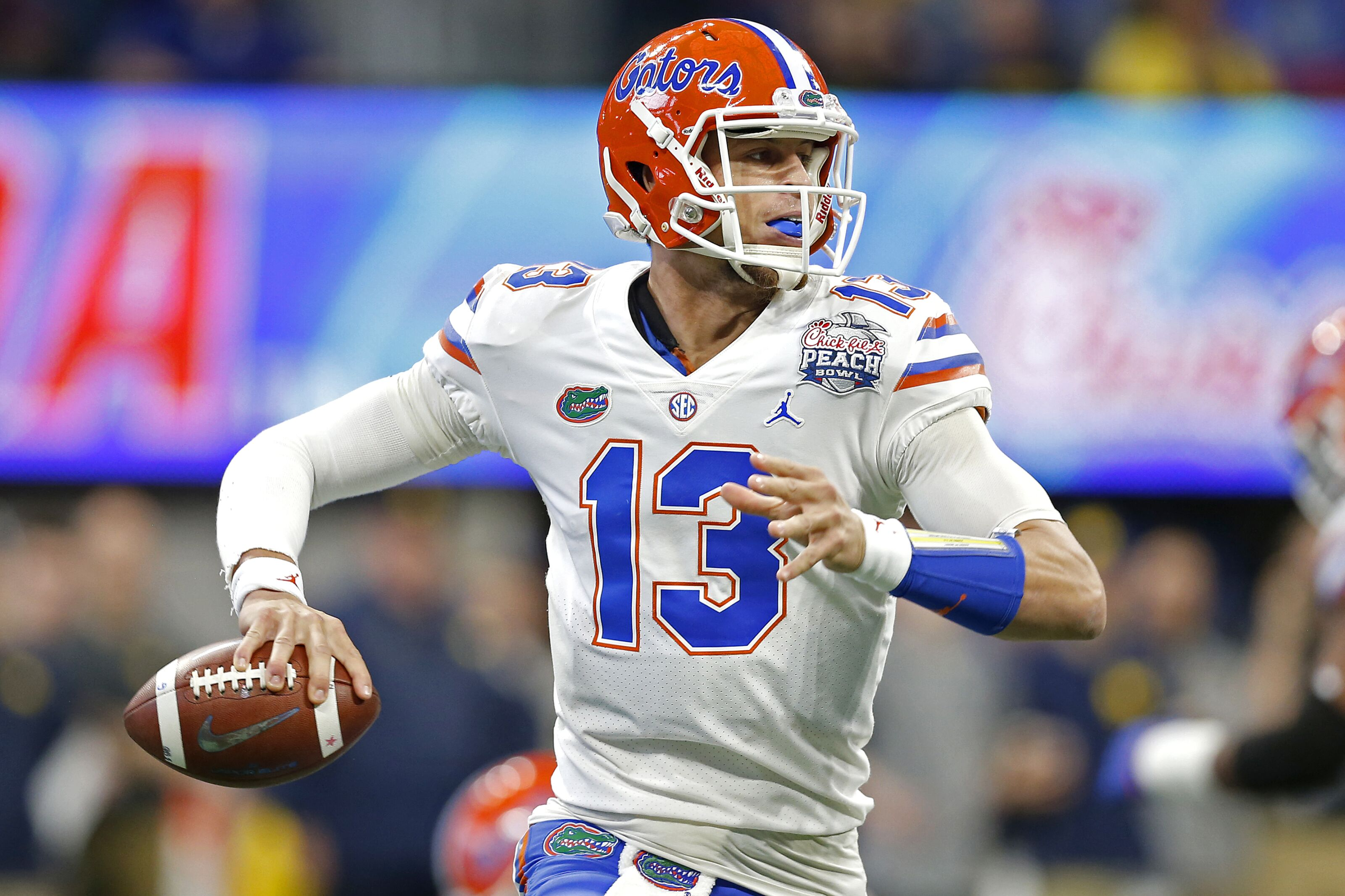 Kansas football: Transfer QB Feleipe Franks is in Lawrence