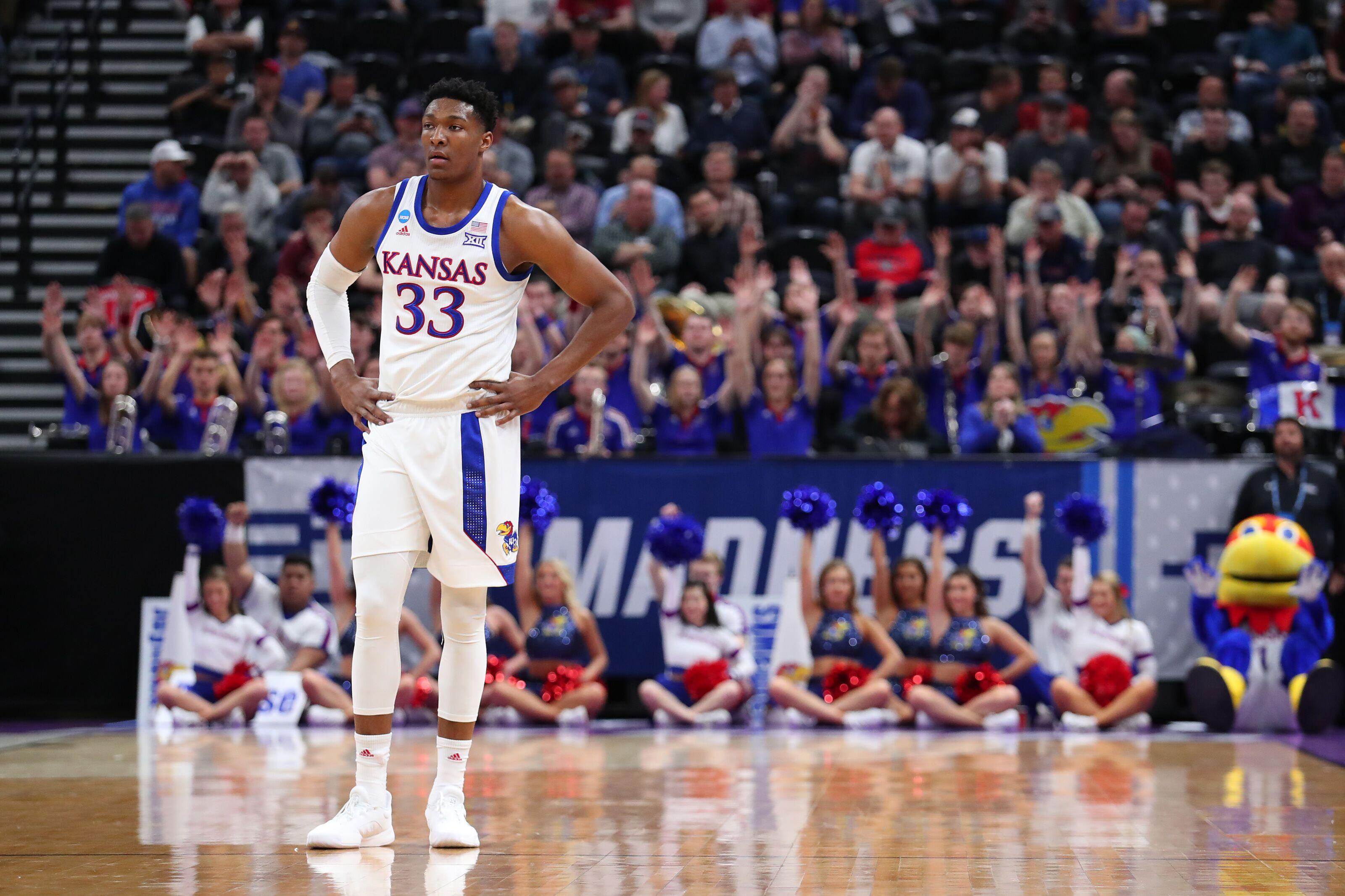 Kansas basketball's David McCormack continues to impress
