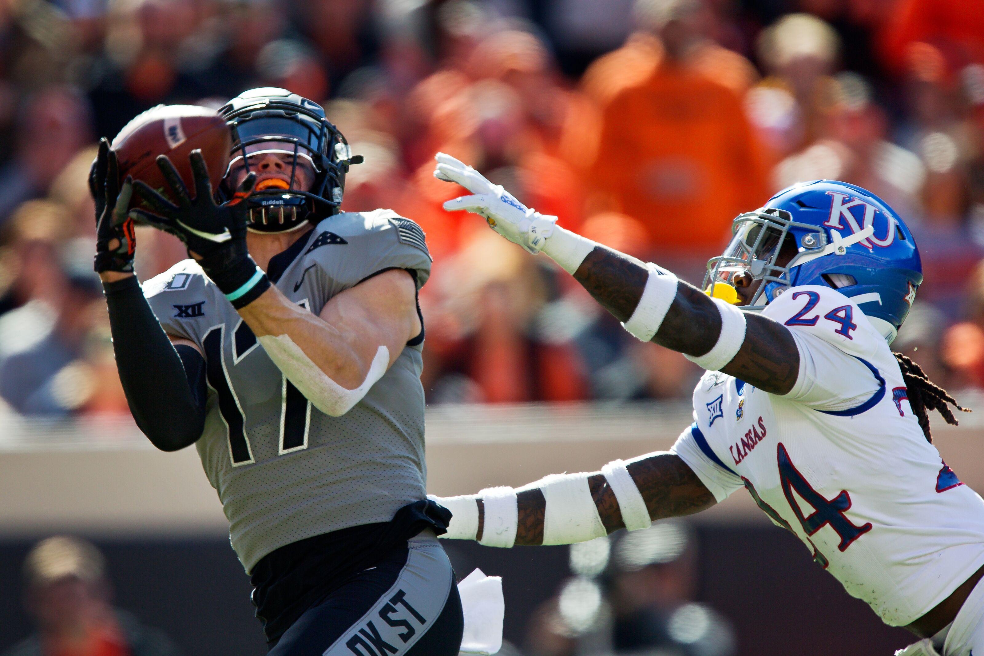 Kansas football vs. Oklahoma State Postgame: Jayhawks fail to show up