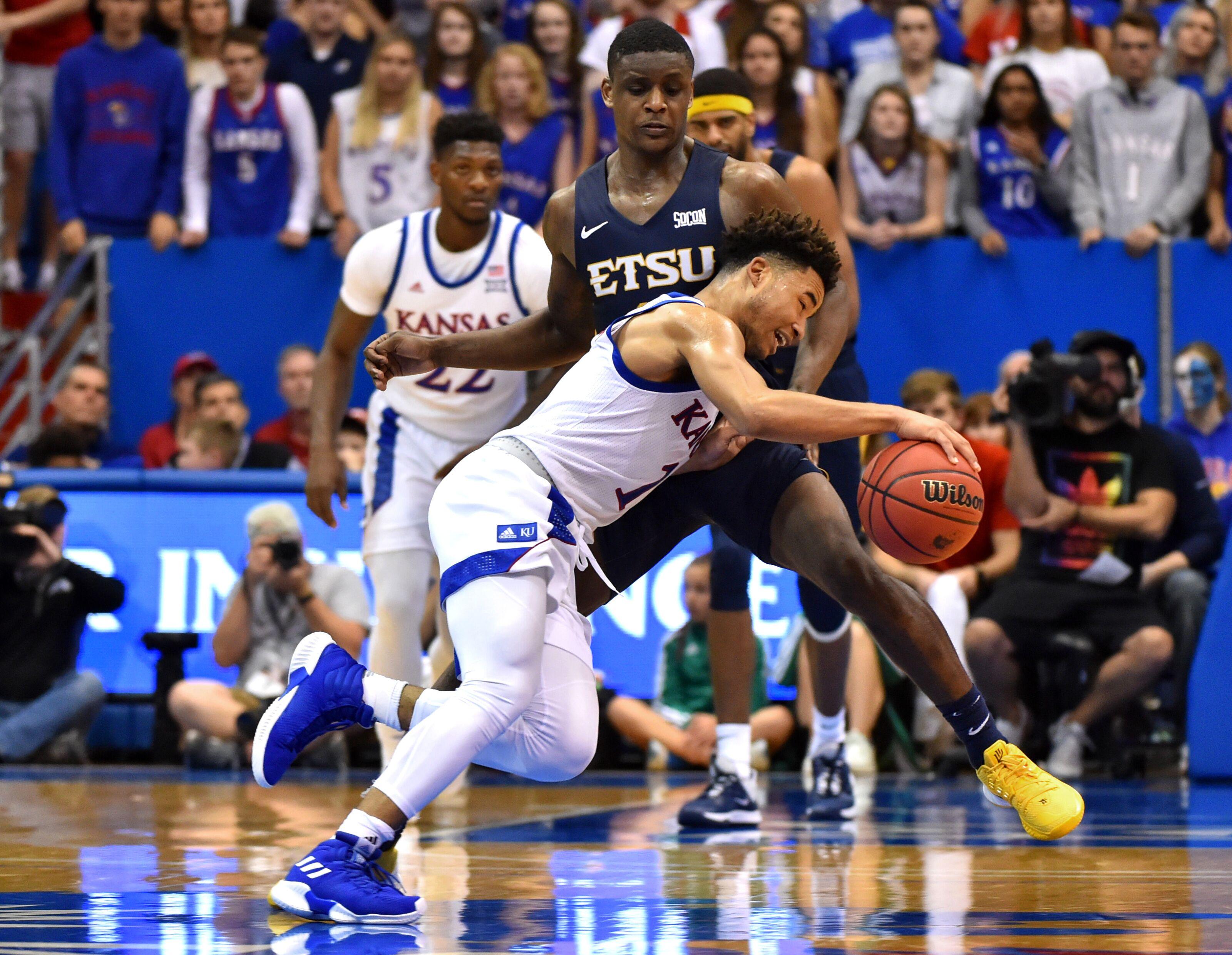 Kansas basketball: Lack of threes vs. ETSU isn't cause for ...