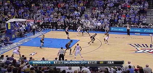960070483801 With Harden at the top of the key there is still a chance that the Thunder  may be going for a quick two