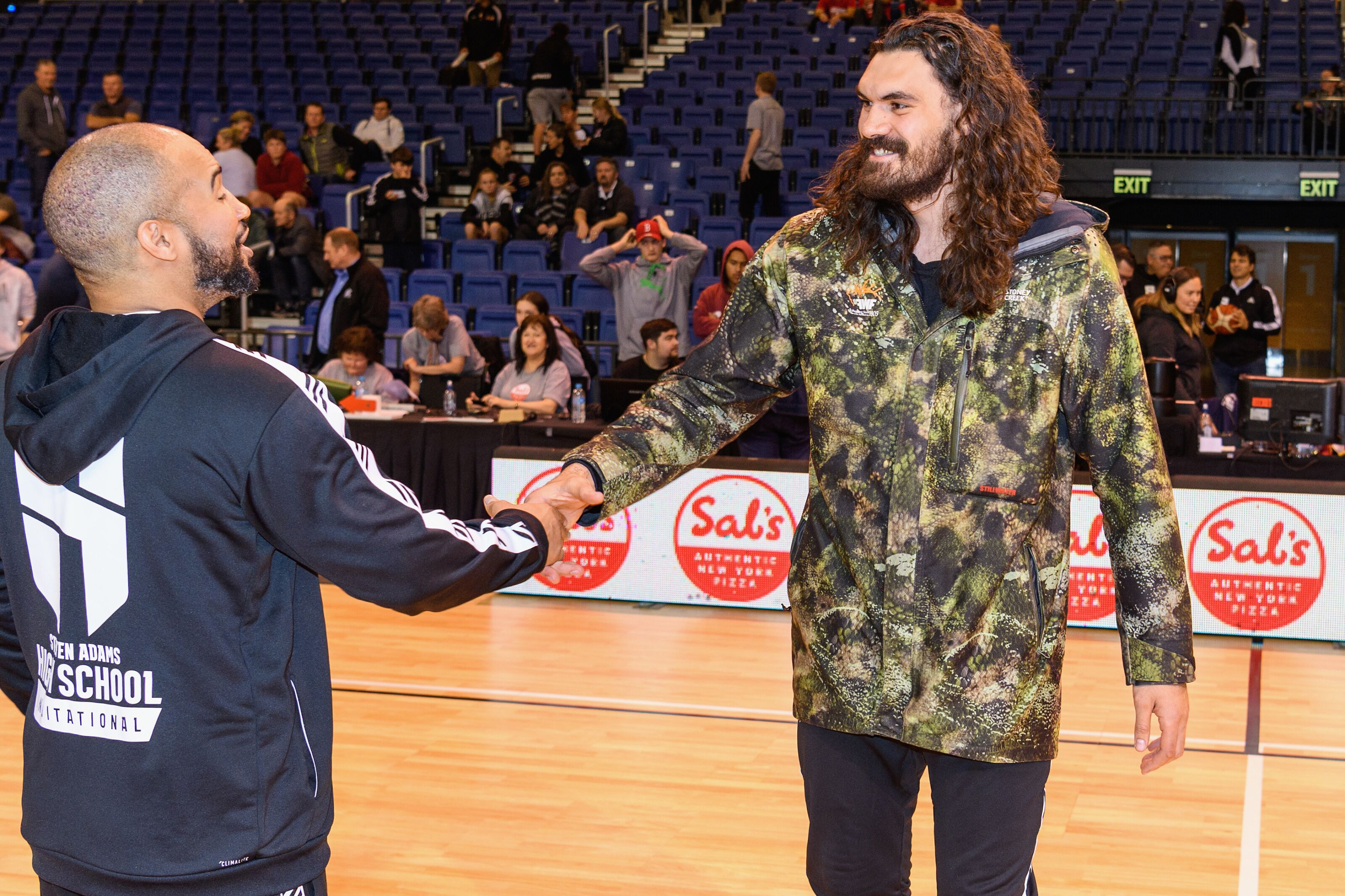 Charity begins at home in New Zealand for OKC Thunder big man Steven Adams