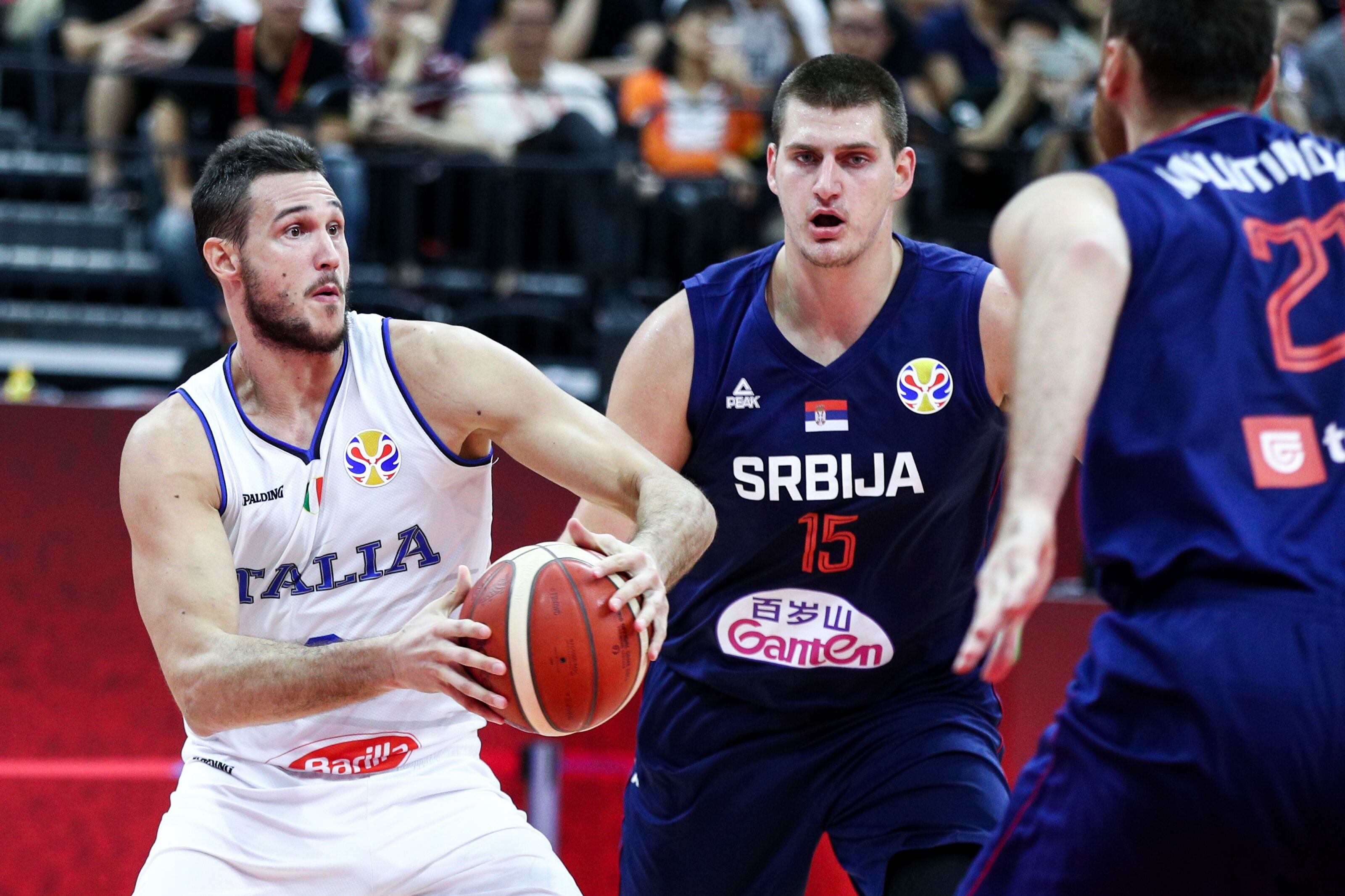 OKC Thunder forward Danilo Gallinari's Team Italy suffers first loss at FIBA versus Serbia