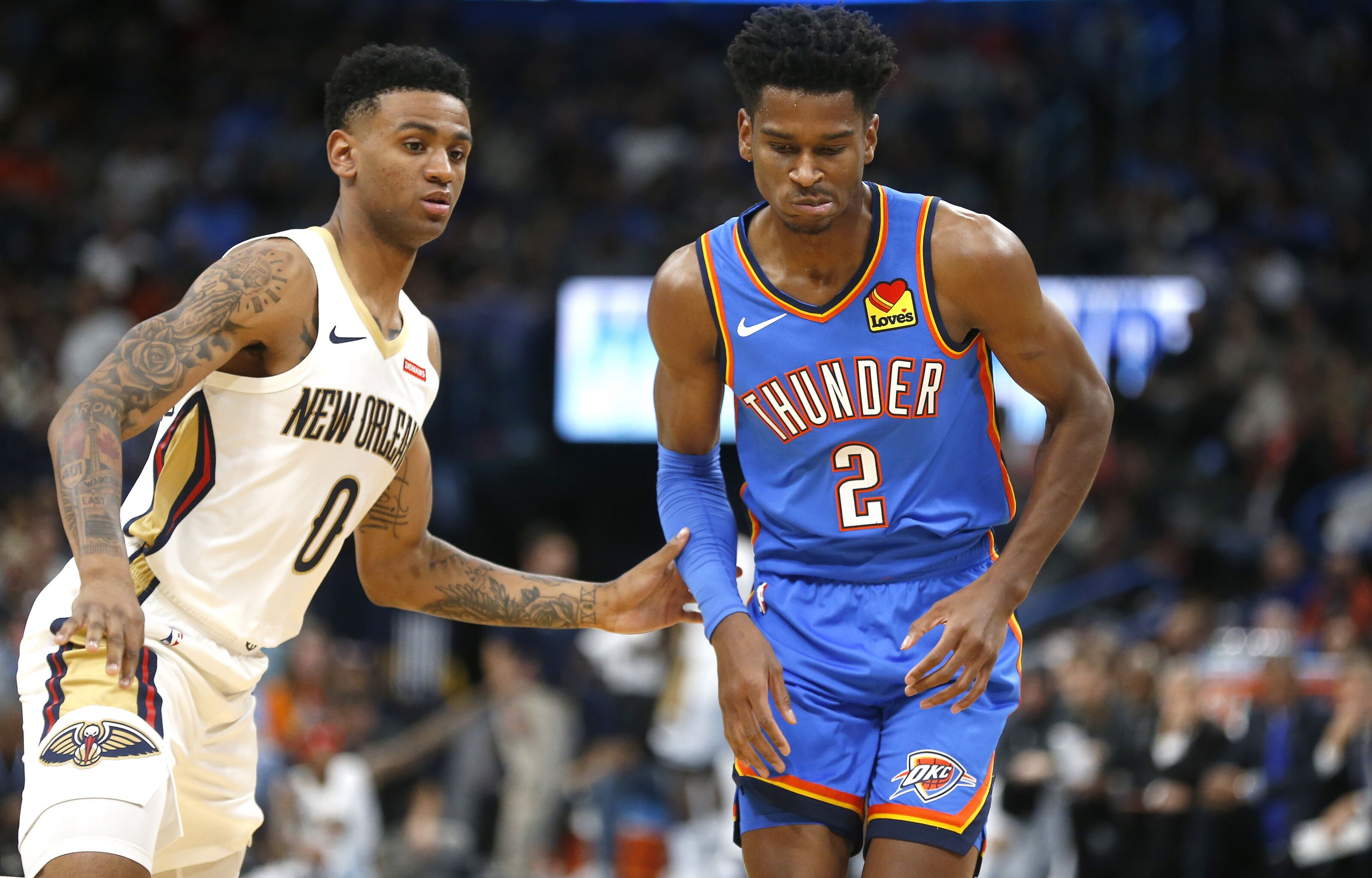 OKC Thunder seek to enter break on positive note: Pelicans preview