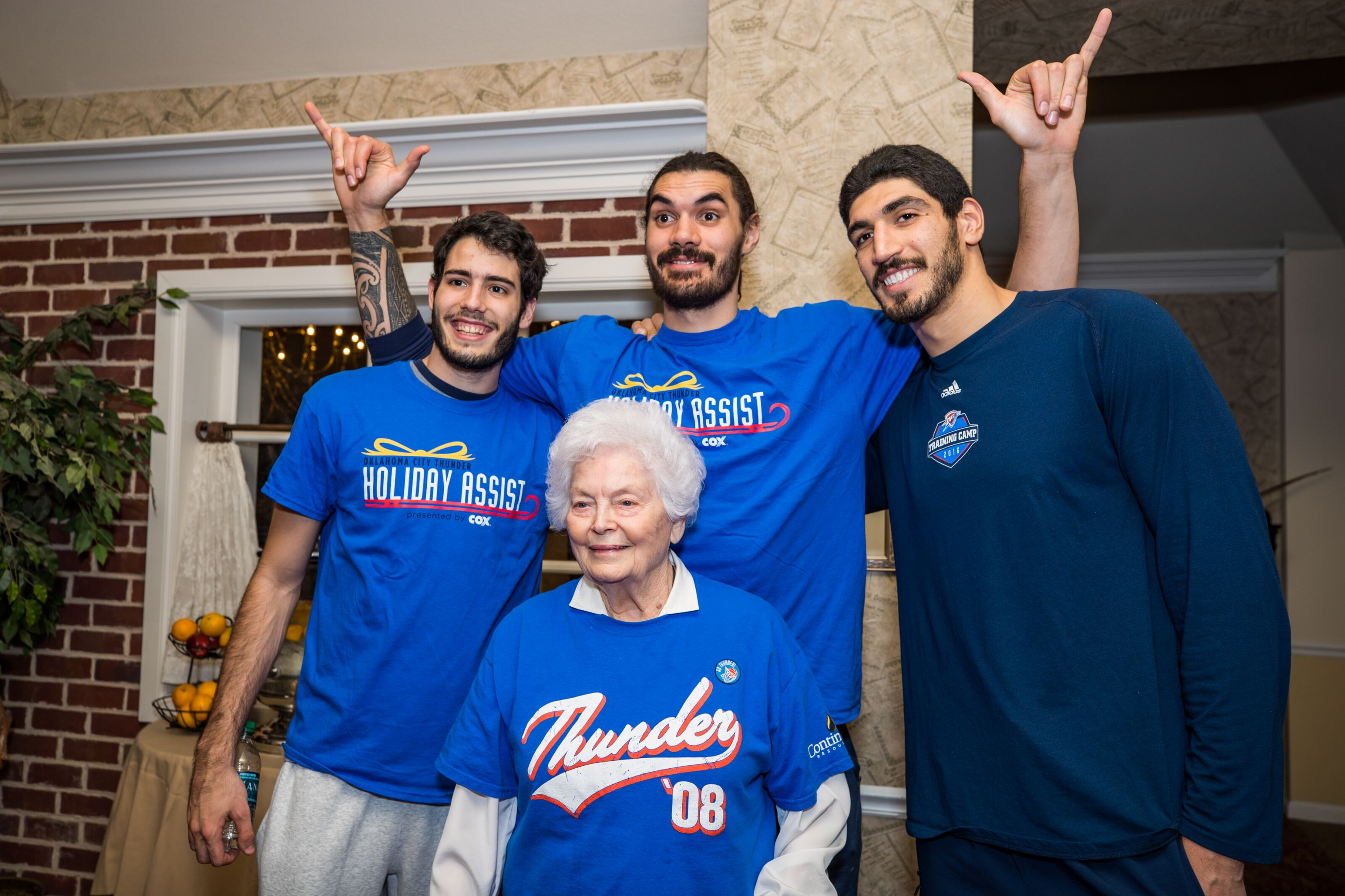 OKC Thunder fan request: a bromance by any other name is a Stache-mance
