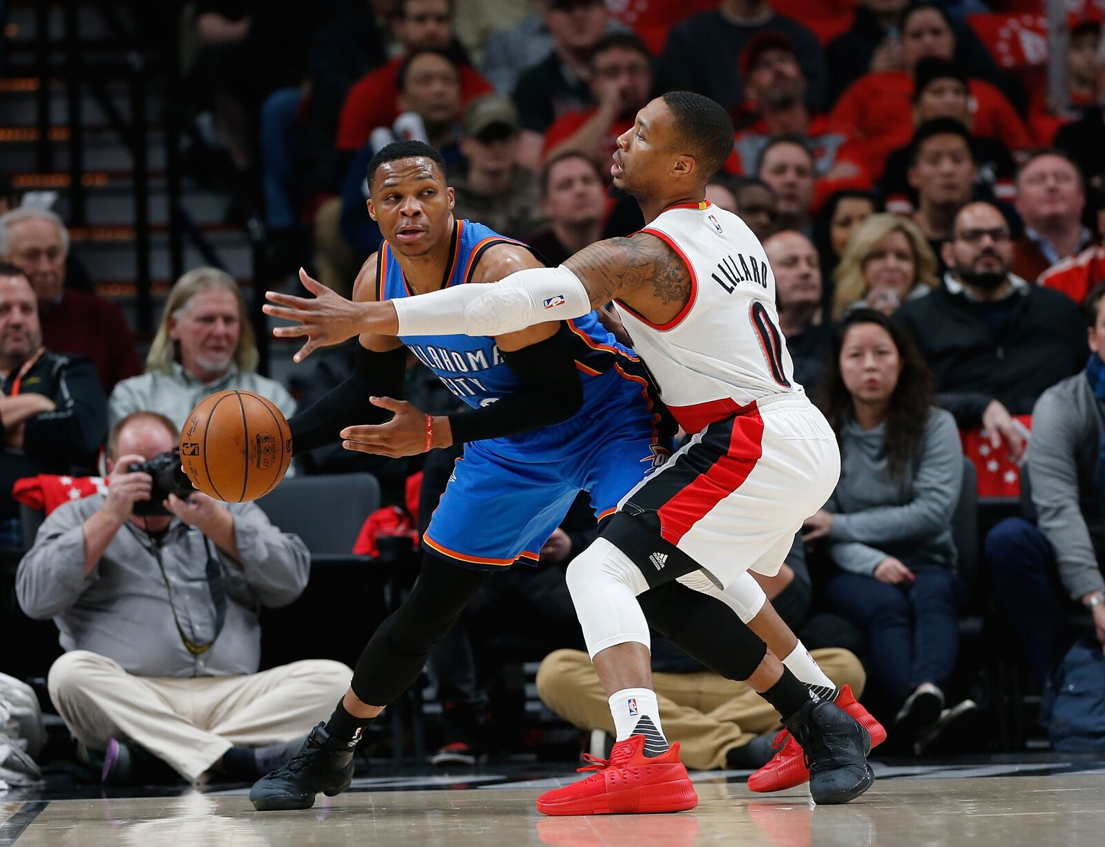 preview okc thunder vs trail blazers going for the sweep