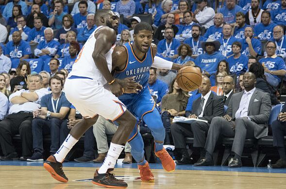 47f6254cba80 OKC Thunder in the News  Paul George plays the Pacers for the first time