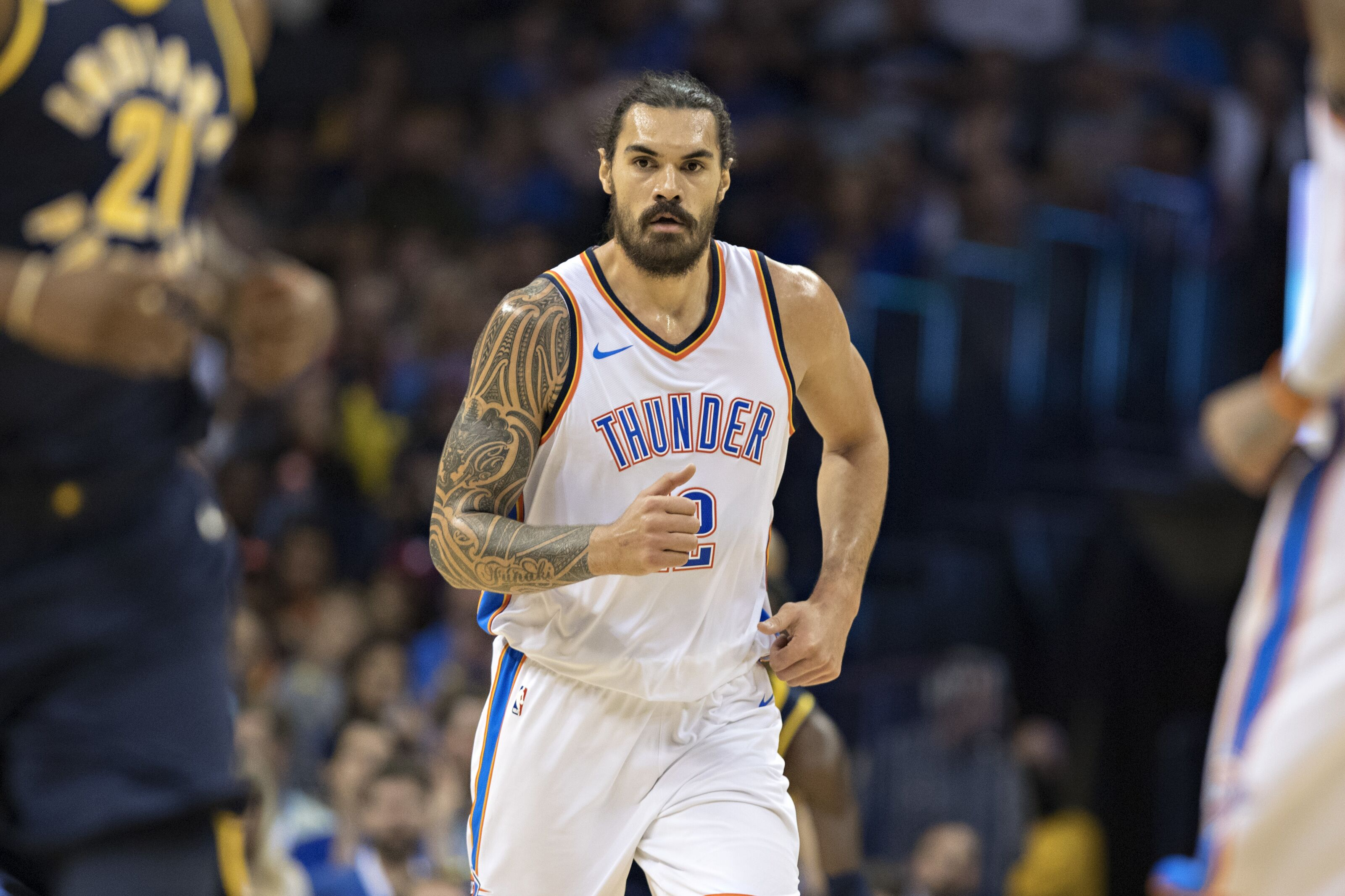 Jarred Weeks motivated to dunk on OKC Thunder center Steven Adams