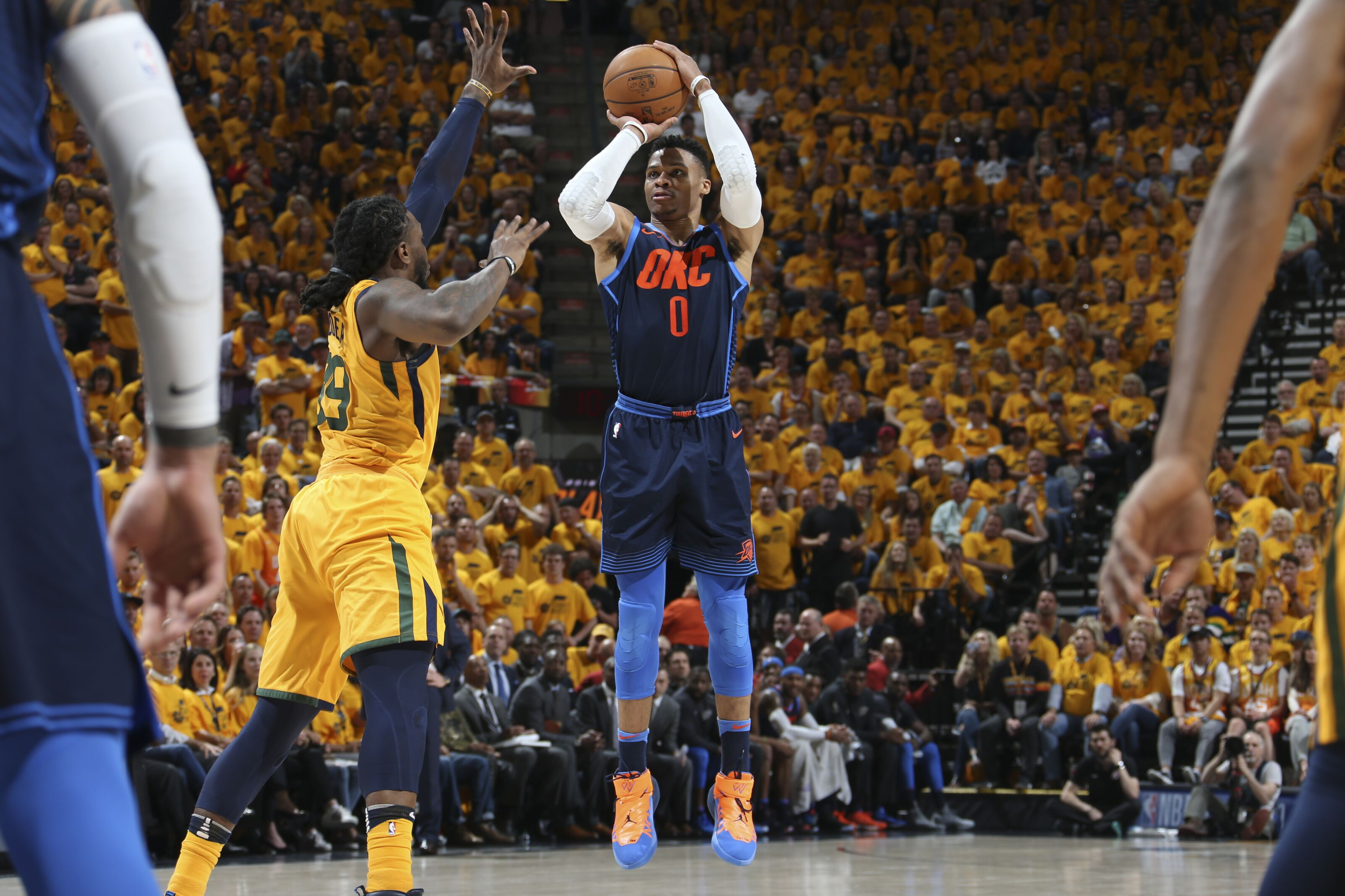 7ebd9bab7120 OKC Thunder In the news  Russell Westbrook takes on 3-point challenge