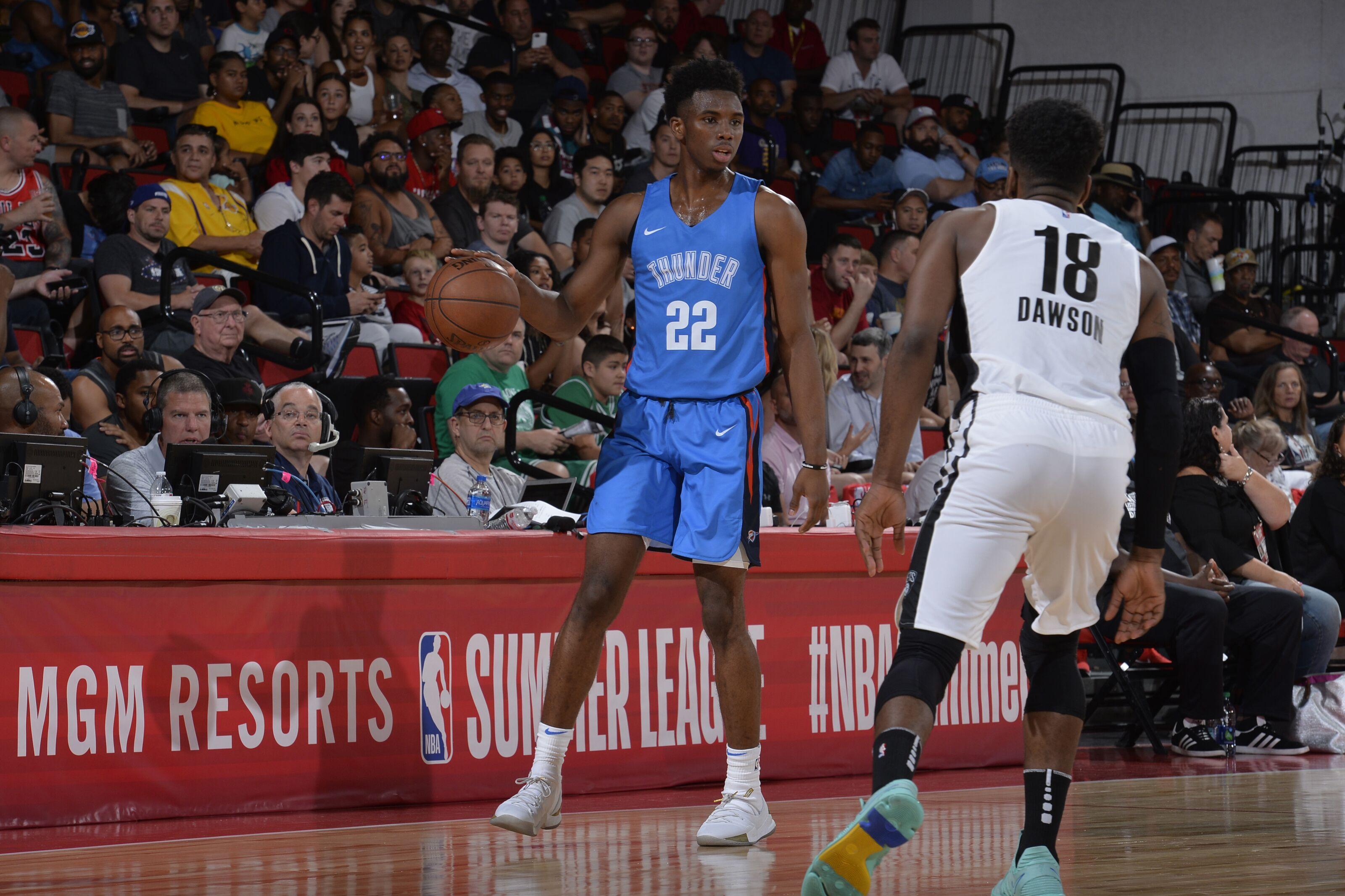 buy online 68bb1 07b6c Hamidou Diallo compares to a pair of players with OKC ...
