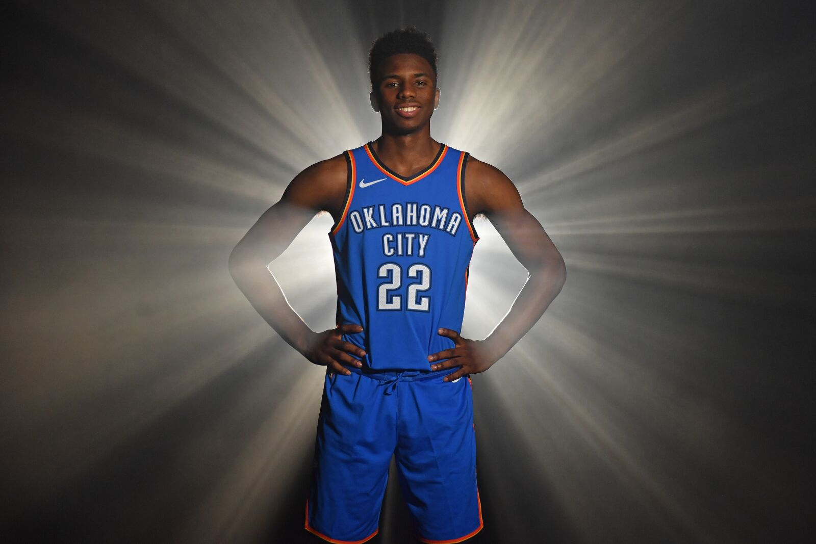 release date 52486 7502a OKC Thunder News: Hamidou Diallo sports new number at photo ...