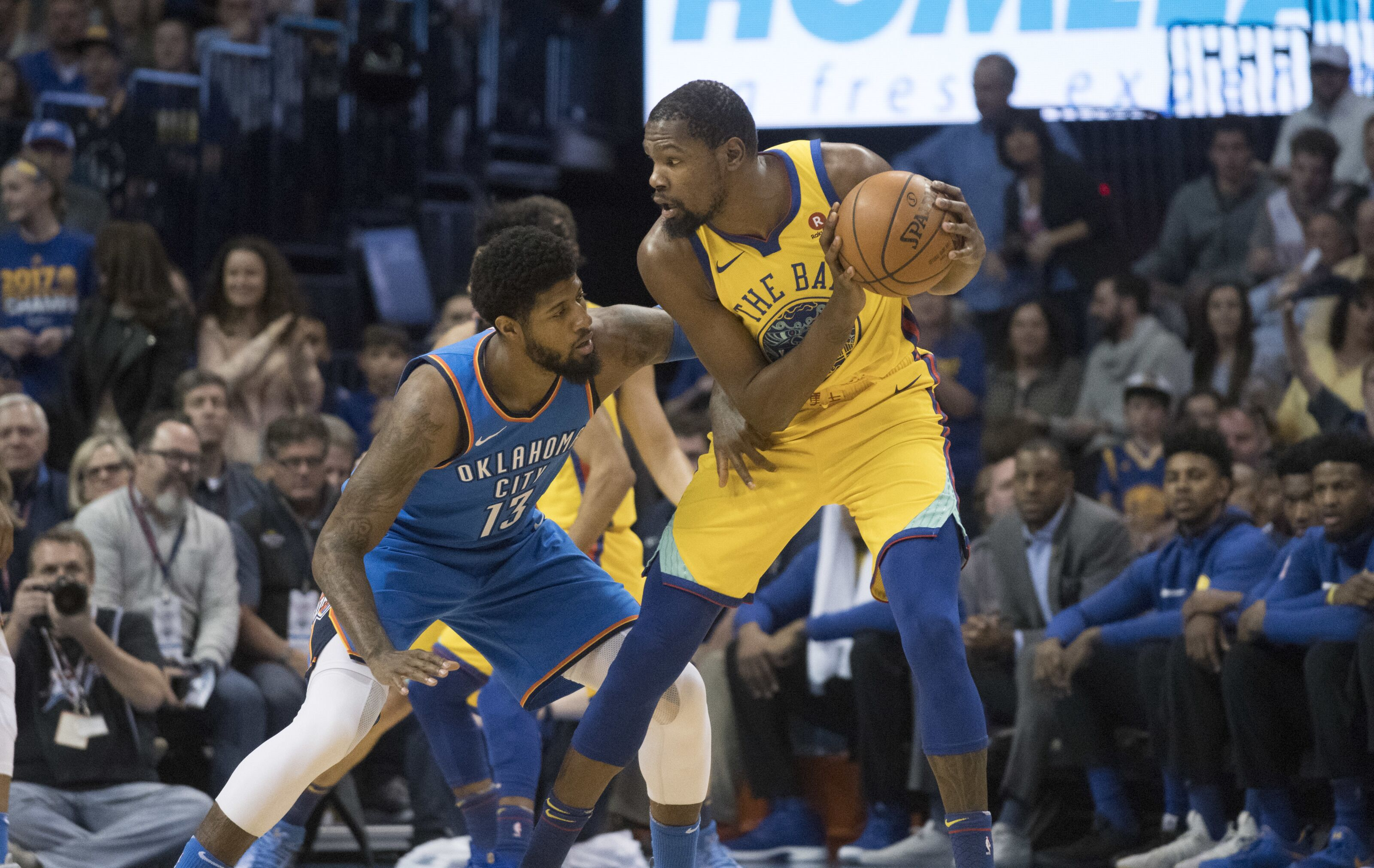 OKC Thunder headline NBA opening night and Christmas day