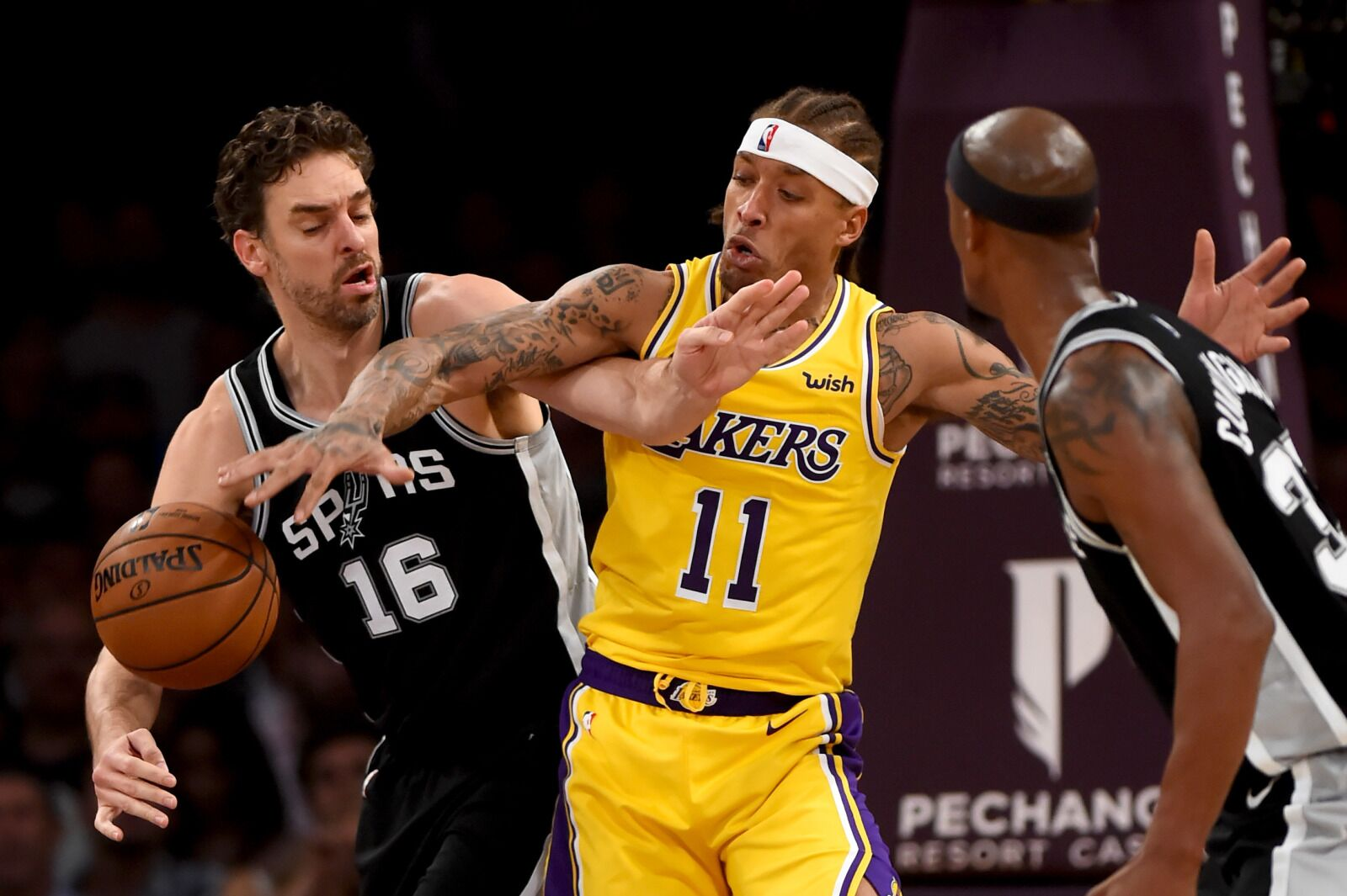 Okc Thunder Target Michael Beasley Photo By Hans Gutknecht Digital First Media Los Angeles Daily News Via Getty Images
