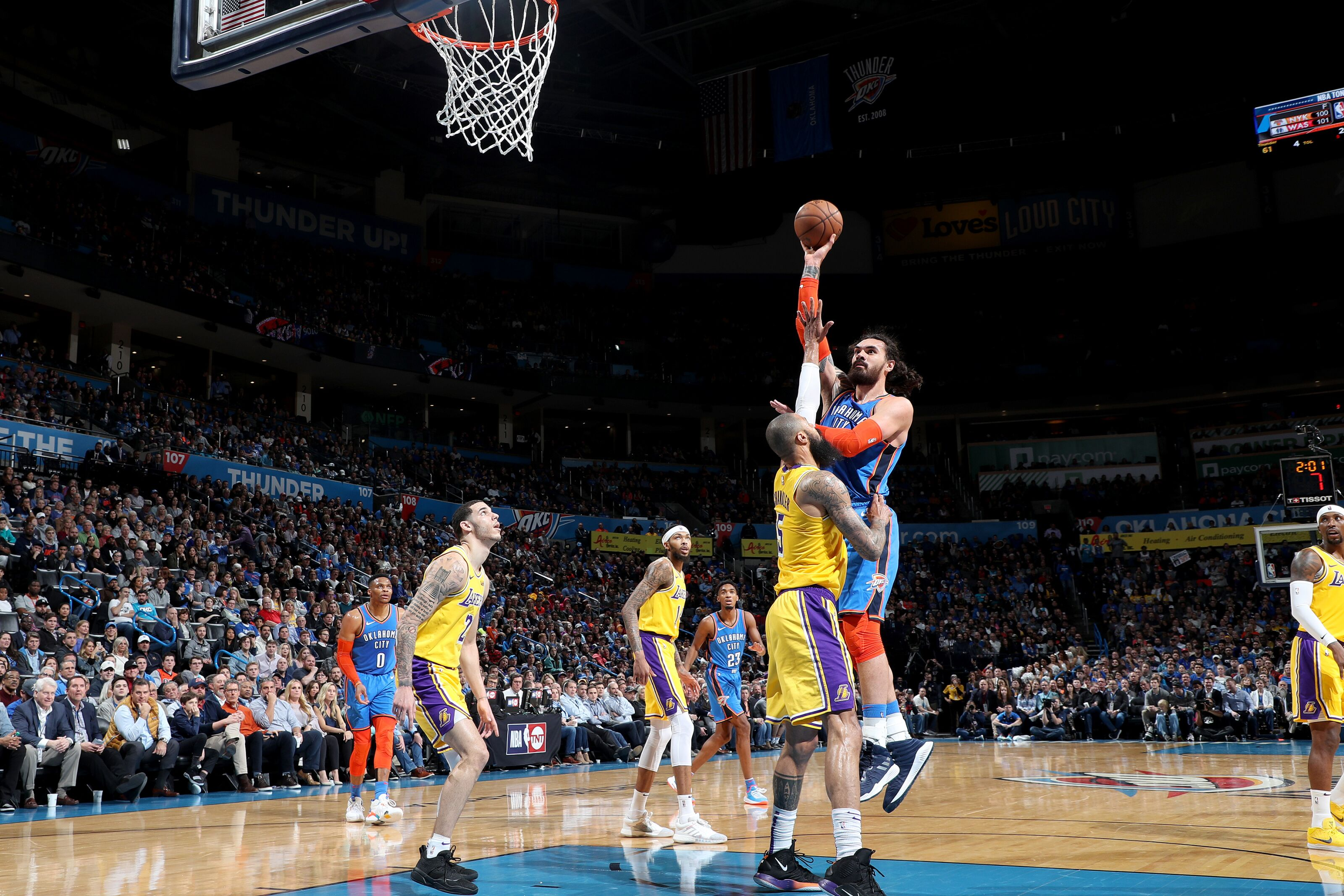 Three takeaways from another OKC Thunder defensive no-show versus the LeBron-less Lakers