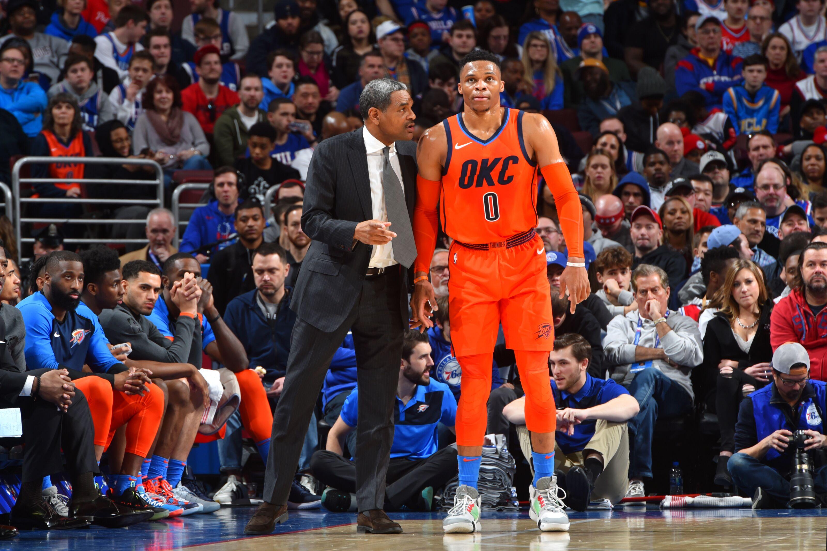 The next OKC Thunder head coach is already in Oklahoma City and it's not Mo Cheeks