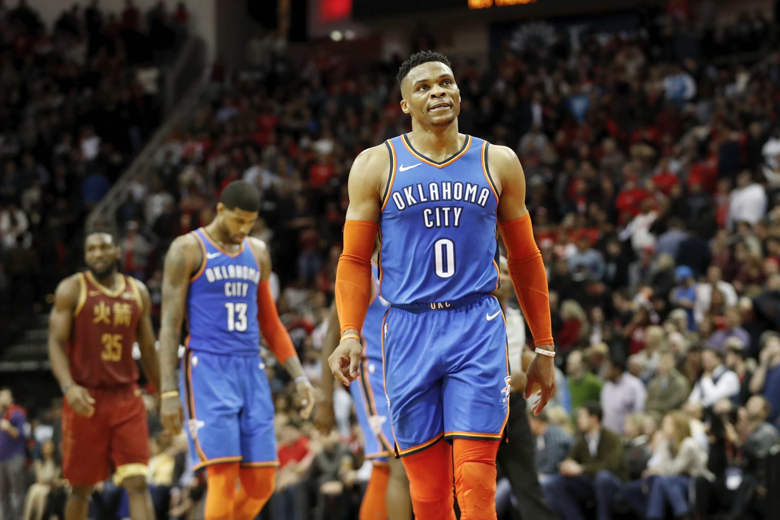 8288e85b9c1ea8 Russell Westbrook s jump in shooting has caused issues for the OKC Thunder