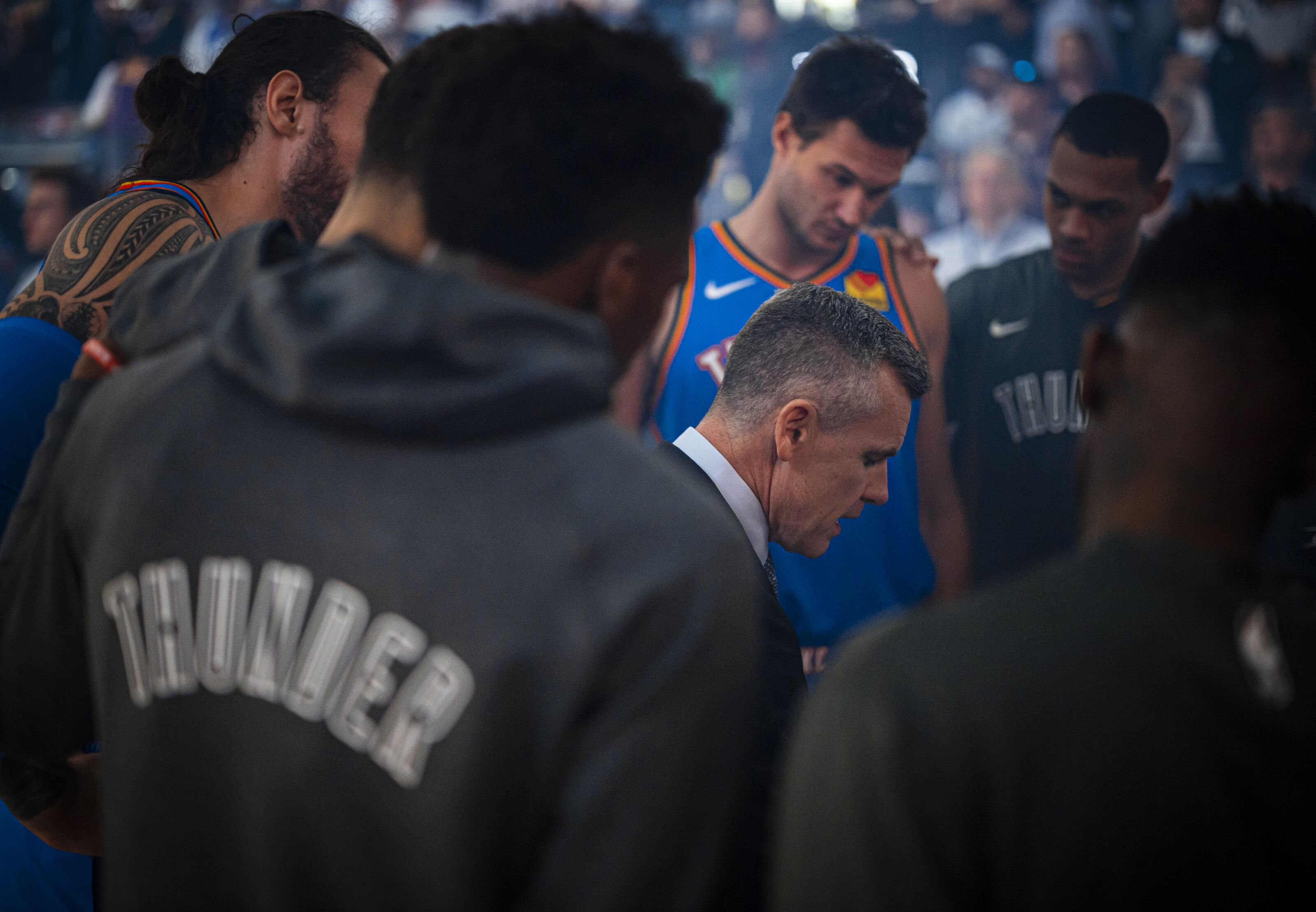 OKC Thunder use insight over eyesight and live in the moment