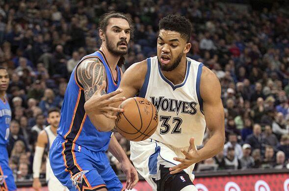 Minnesota Timberwolves - Oklahoma City Thunder