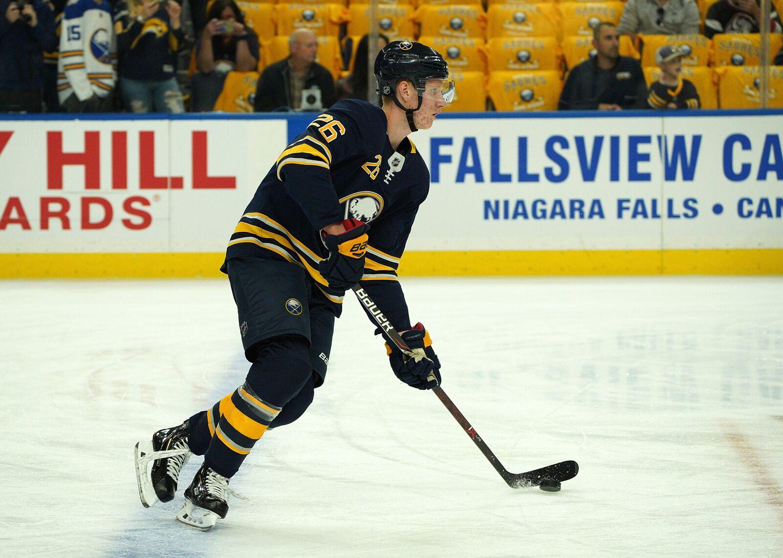 Buffalo Sabres: Rasmus Dahlin endures a nightmare debut