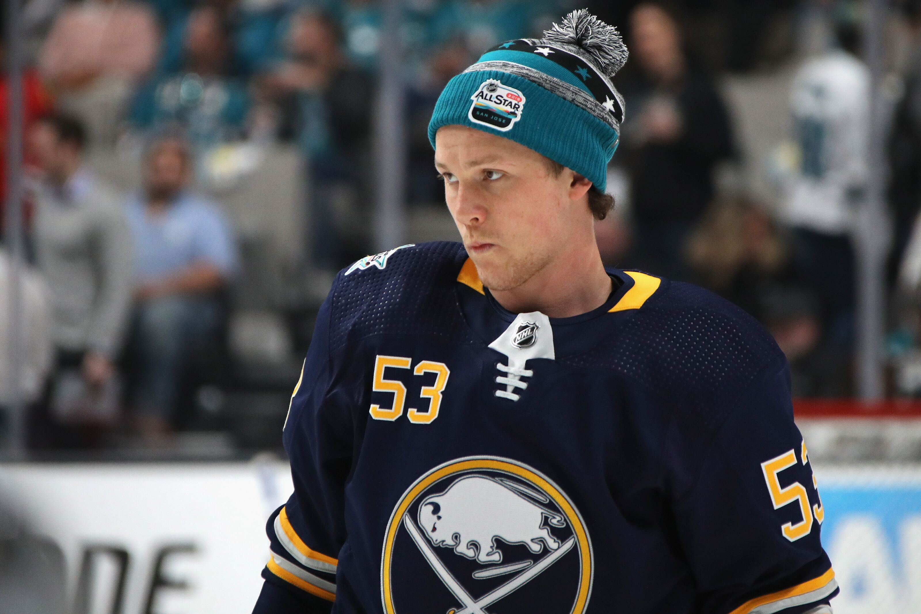 Buffalo Sabres  Jeff Skinner avoids serious injury in big Capitals win 5bb60fc01