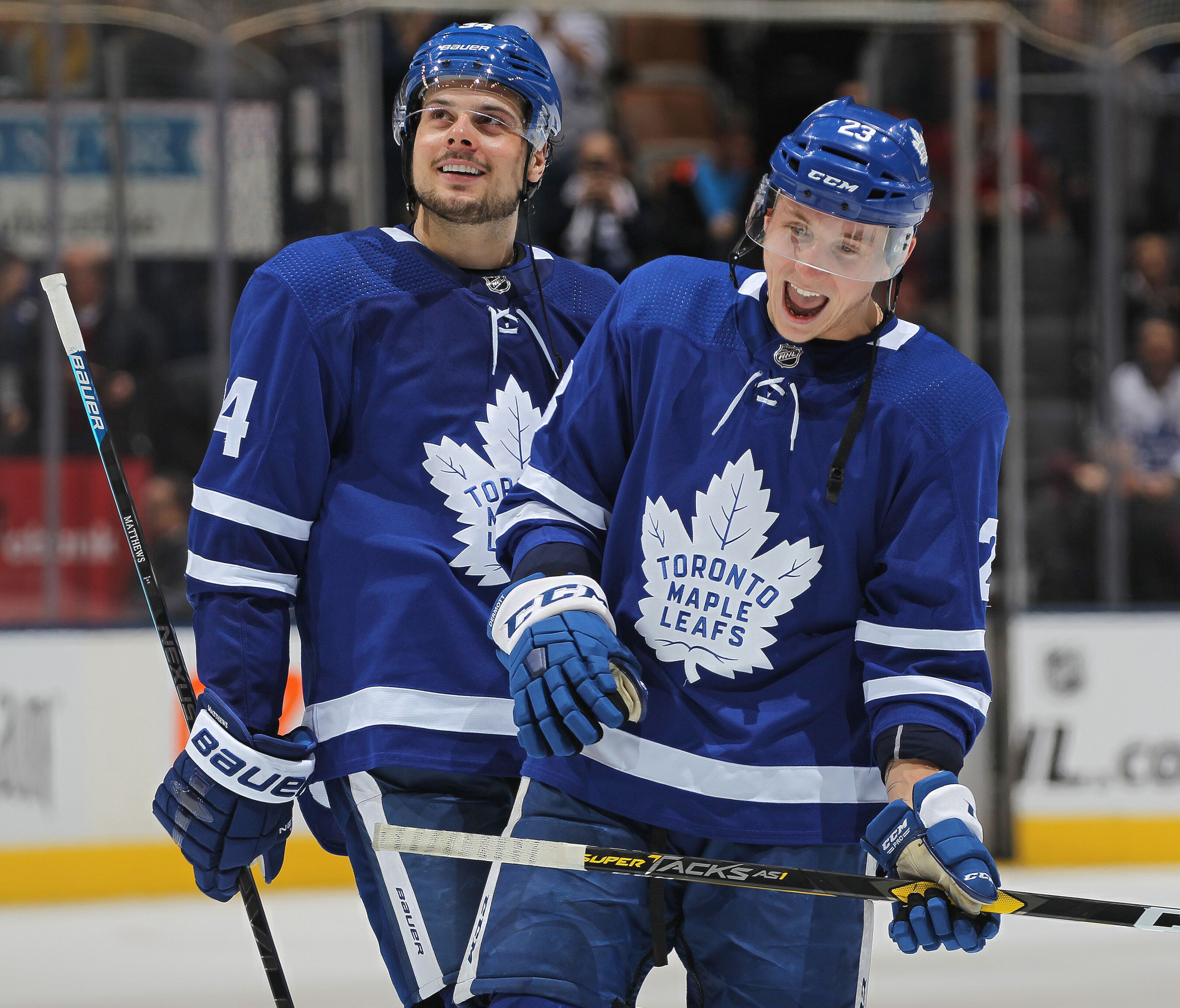 17dde10c4 Toronto Maple Leafs show heart in the face of adversity