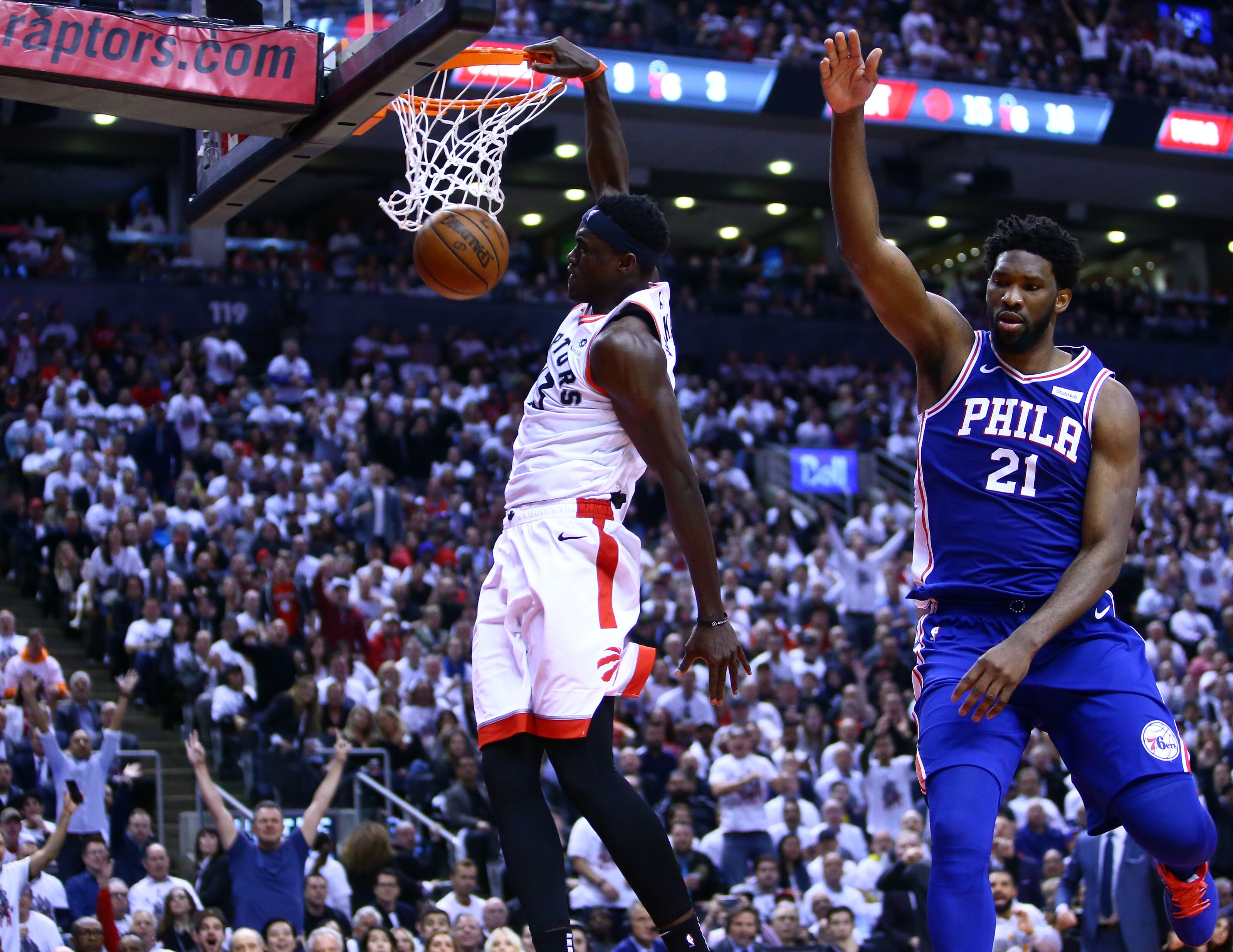 1dc3c42db6e8 Toronto Raptors regain dominant form with Game 5 win over Philadelphia 76ers