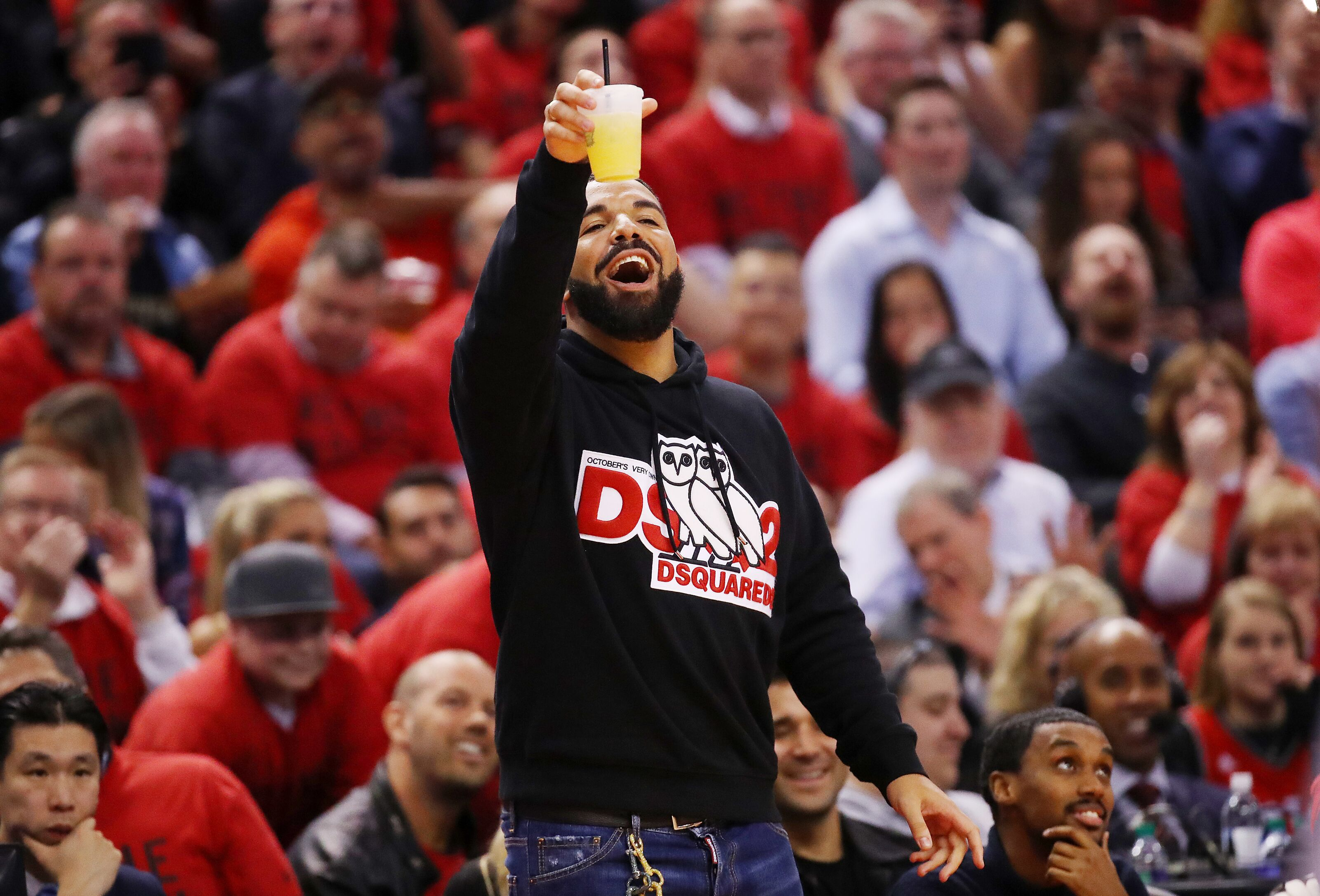 b1f87d3db98 Toronto Raptors getting big assist from Drake distracting Milwaukee Bucks