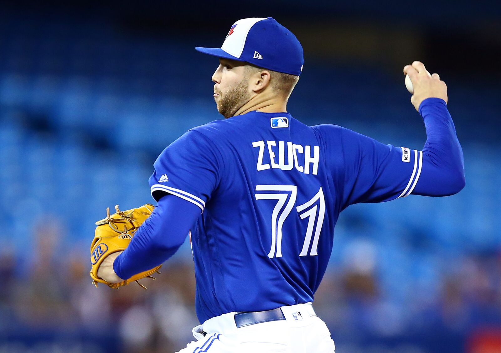 Toronto Blue Jays: T.J. Zeuch dominates Yankees for first win