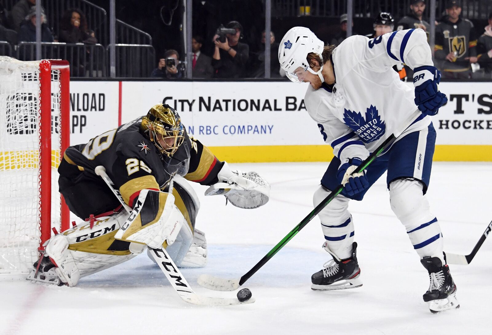 Toronto Maple Leafs: Same old story comes back to bite them in Sin City
