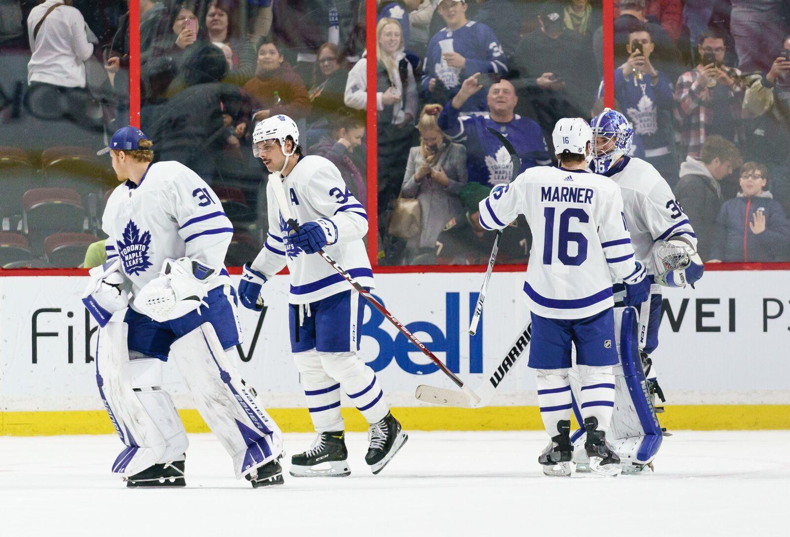 Toronto Maple Leafs: Campbell win again, Matthews keeps scoring pace