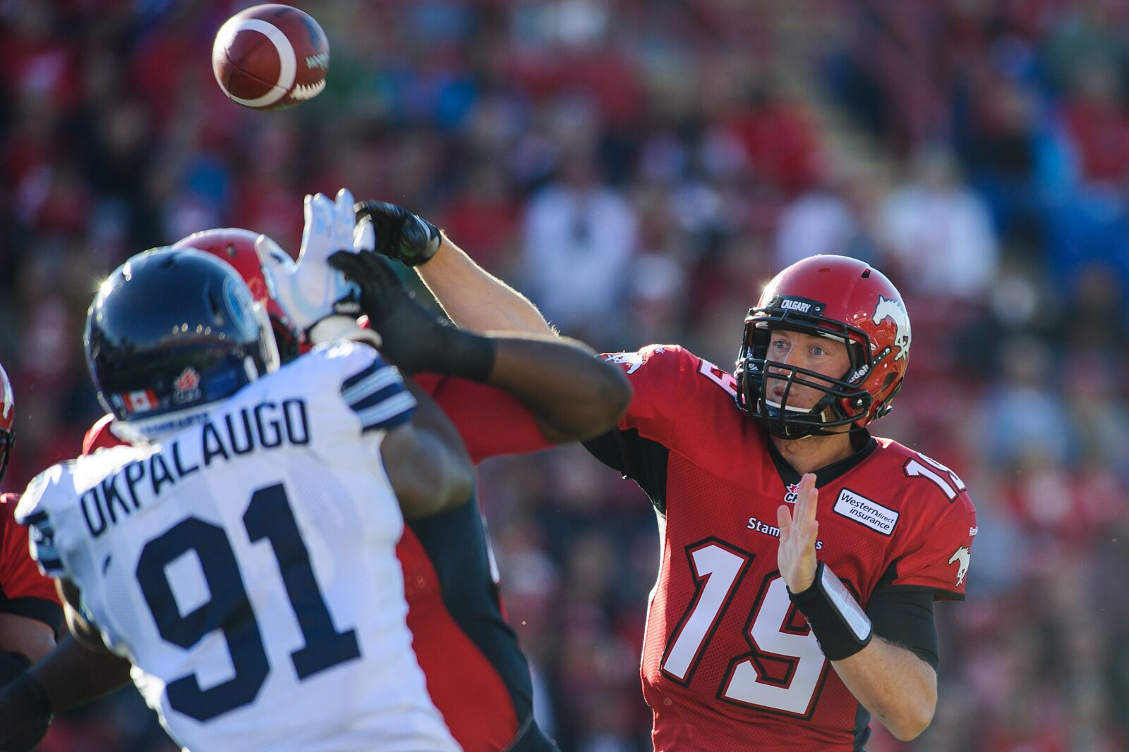 Toronto Argonauts: Mistakes pile up in frustrating loss to Stampeders