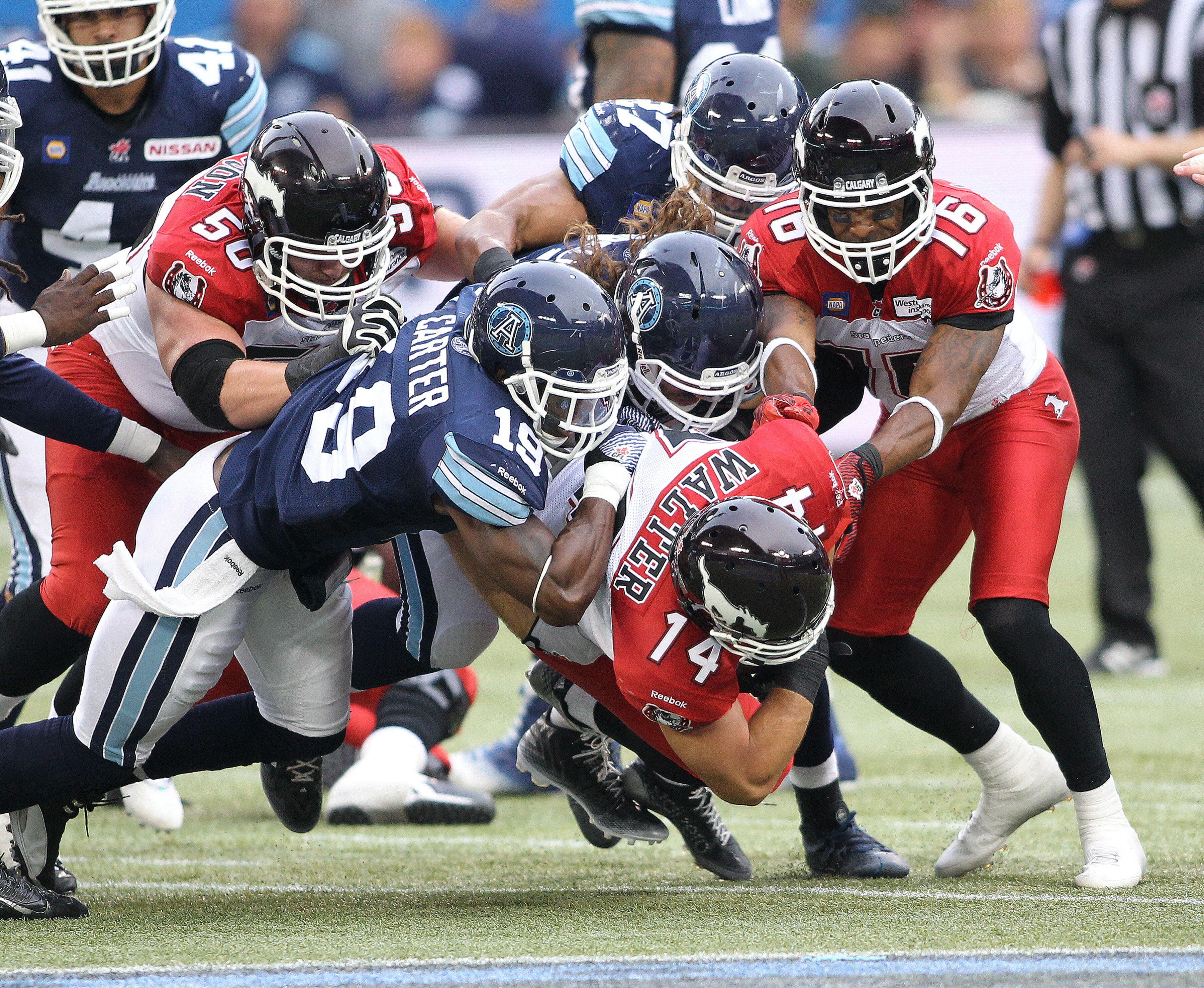 Toronto Argonauts looking to keep momentum going against Stampeders