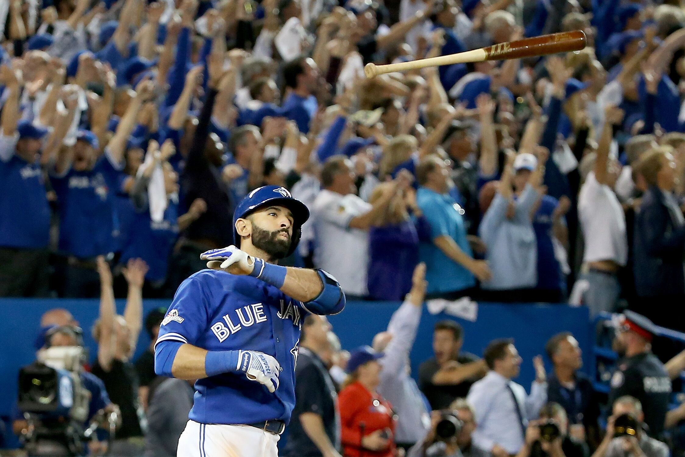Toronto Blue Jays: Being thankful for the Jose Bautista bat flip four years later