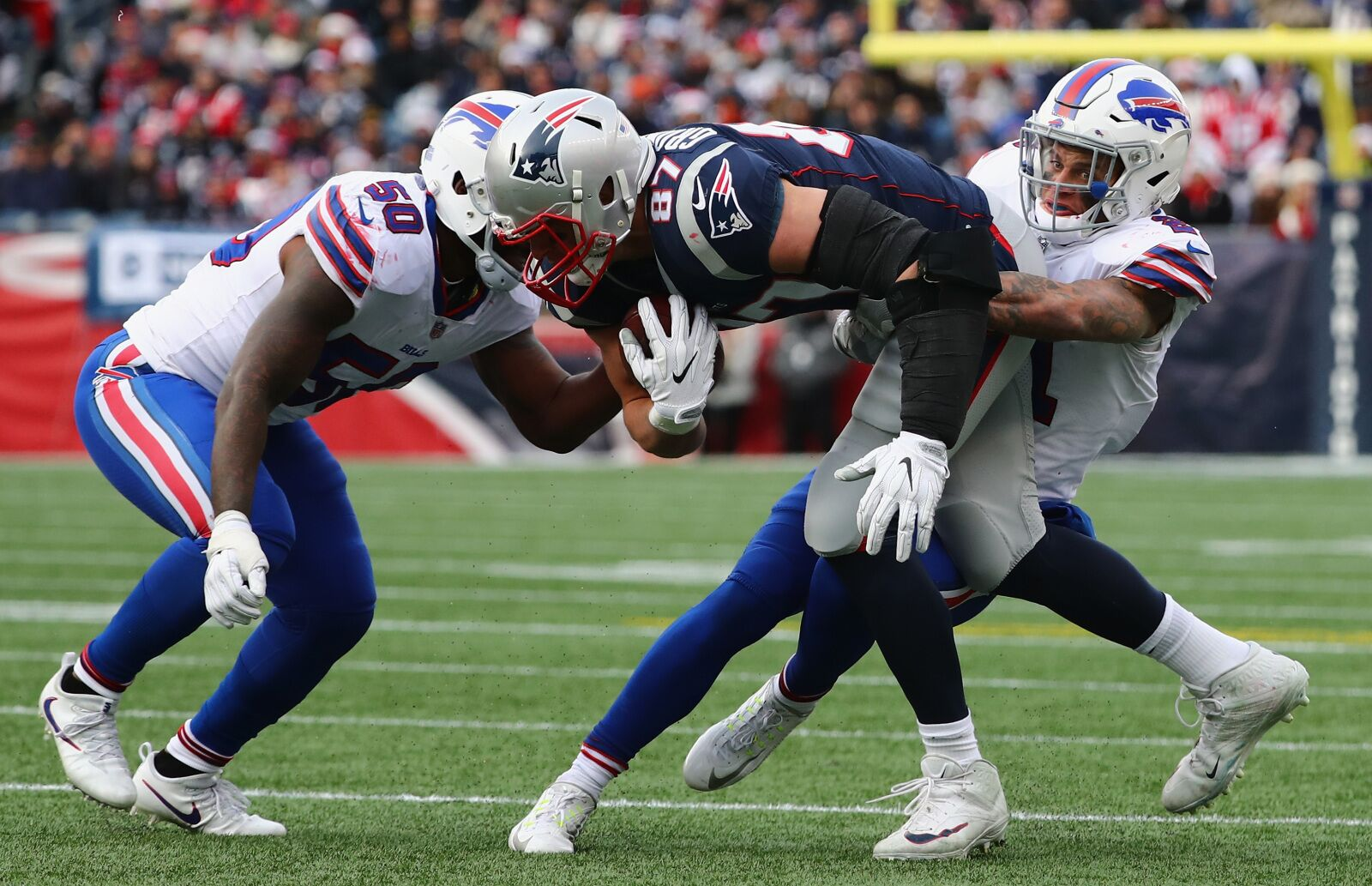 5c4d953a847 Buffalo Bills  Will they target Rob Gronkowski if he s cut