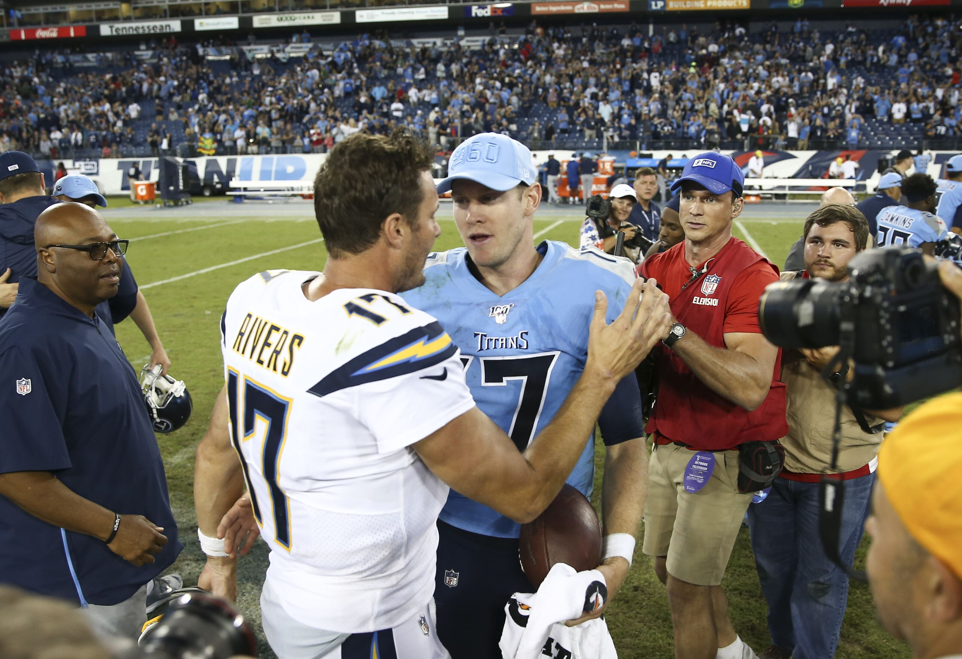 Melvin Gordon thinks Philip Rivers will land with Titans division rival