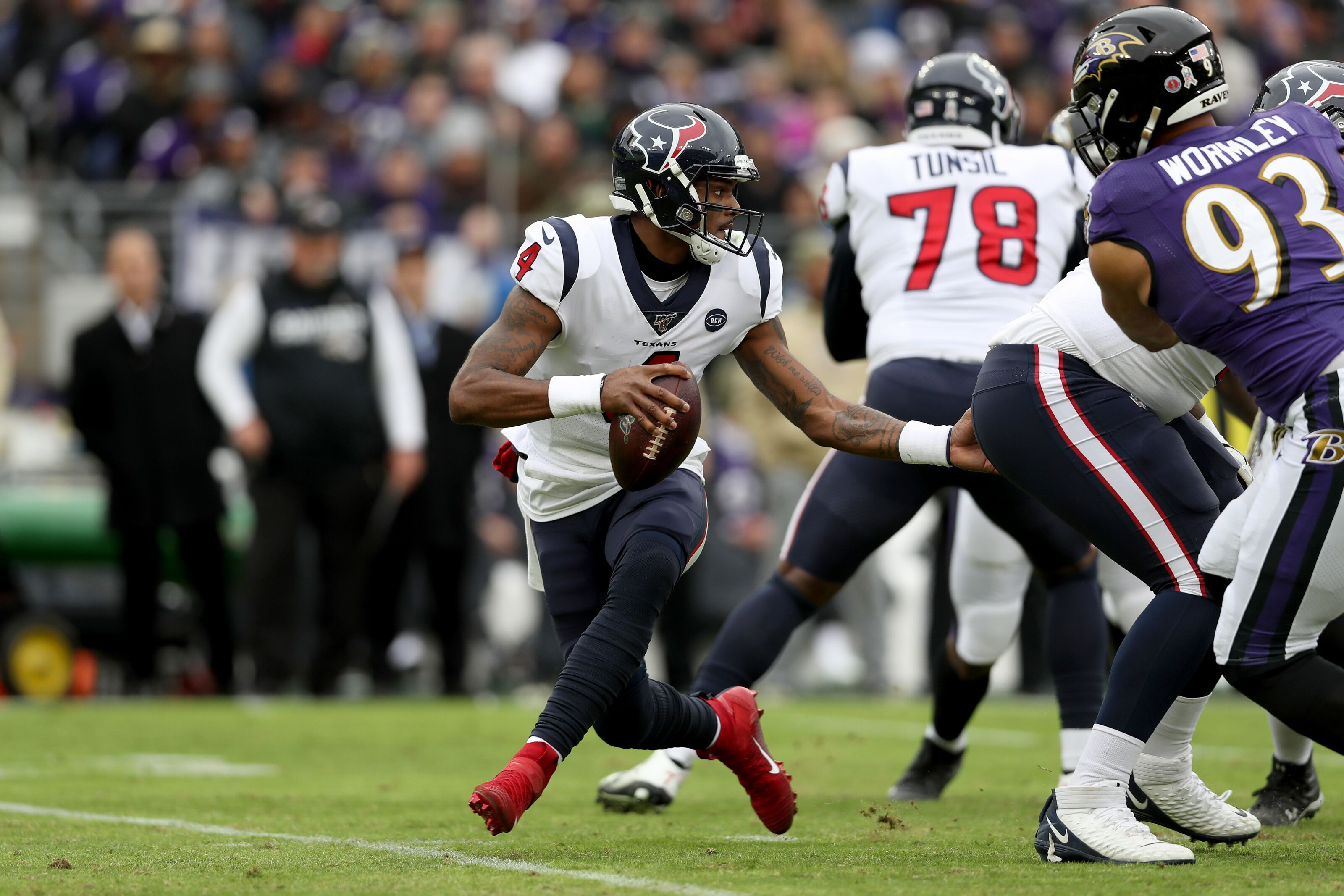 Houston Texans prove that the Tennessee Titans should never challenge DPI again
