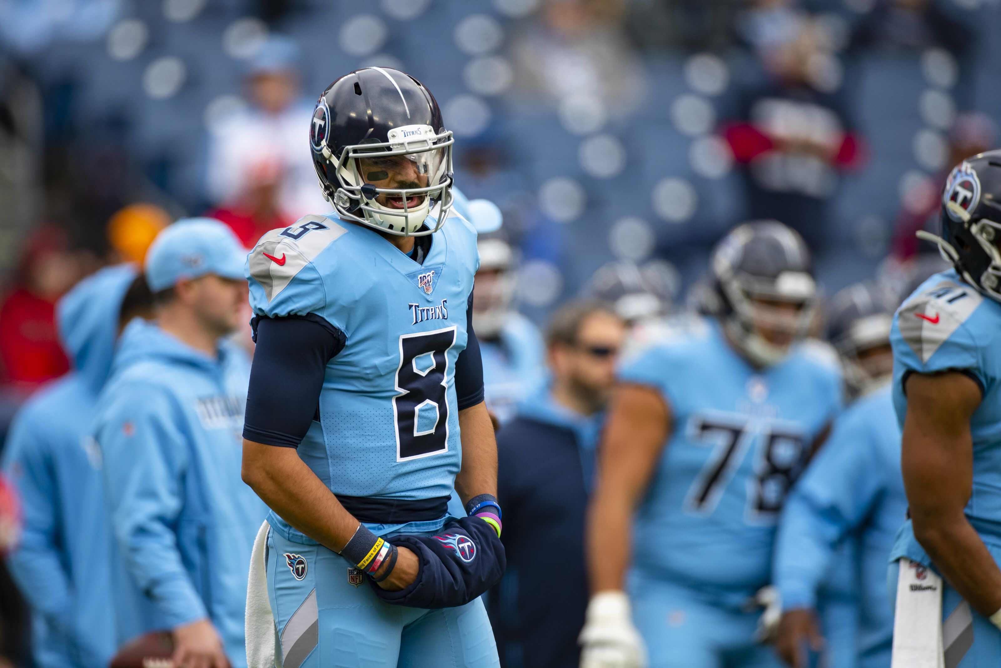 Marcus Mariota reflects on Titans career after loss to Chiefs
