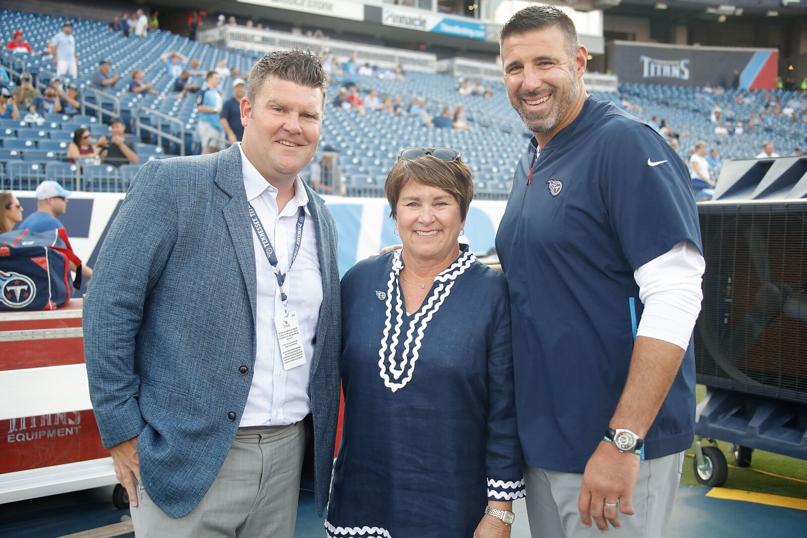 Titans owner Amy Adams...